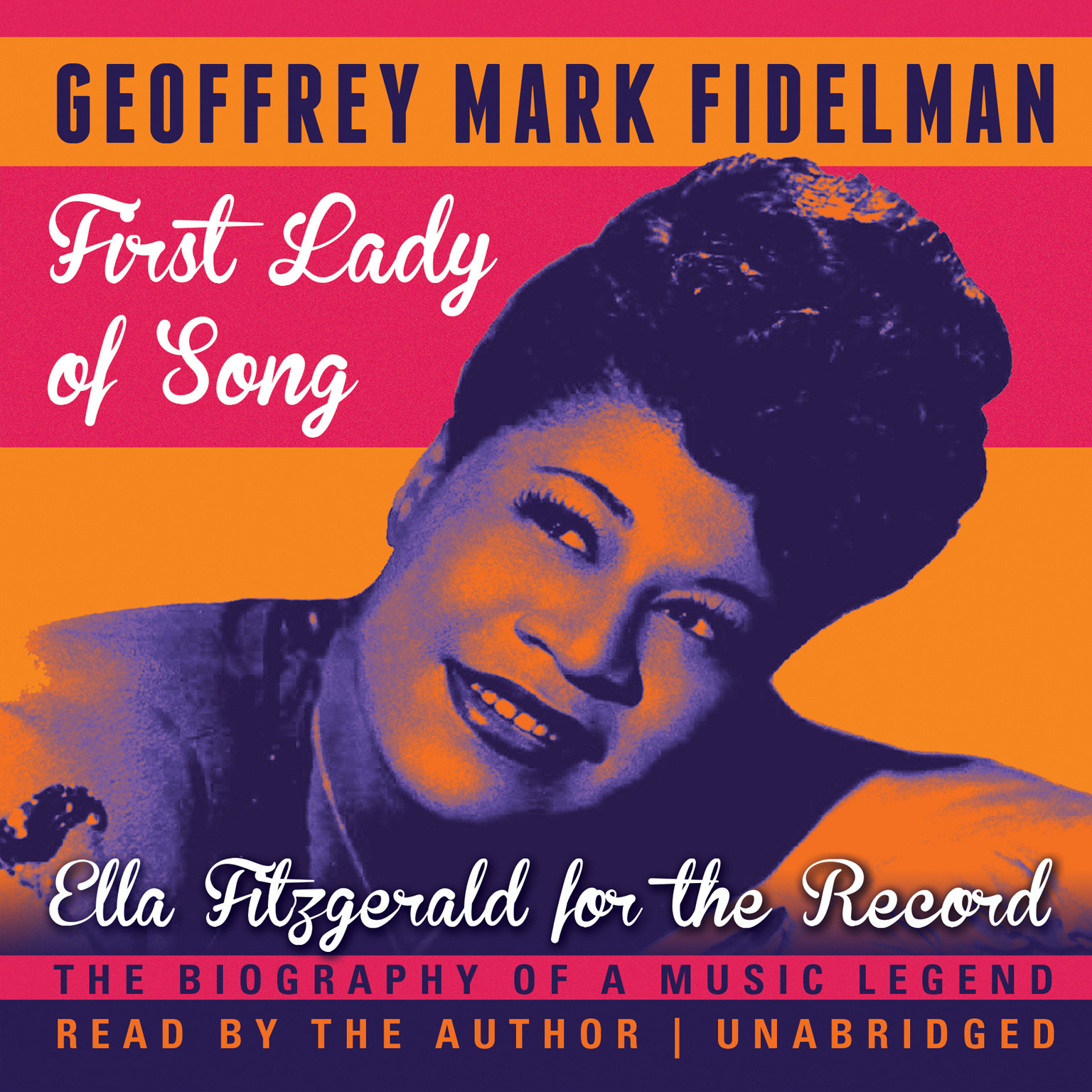 Printable First Lady of Song: Ella Fitzgerald for the Record Audiobook Cover Art