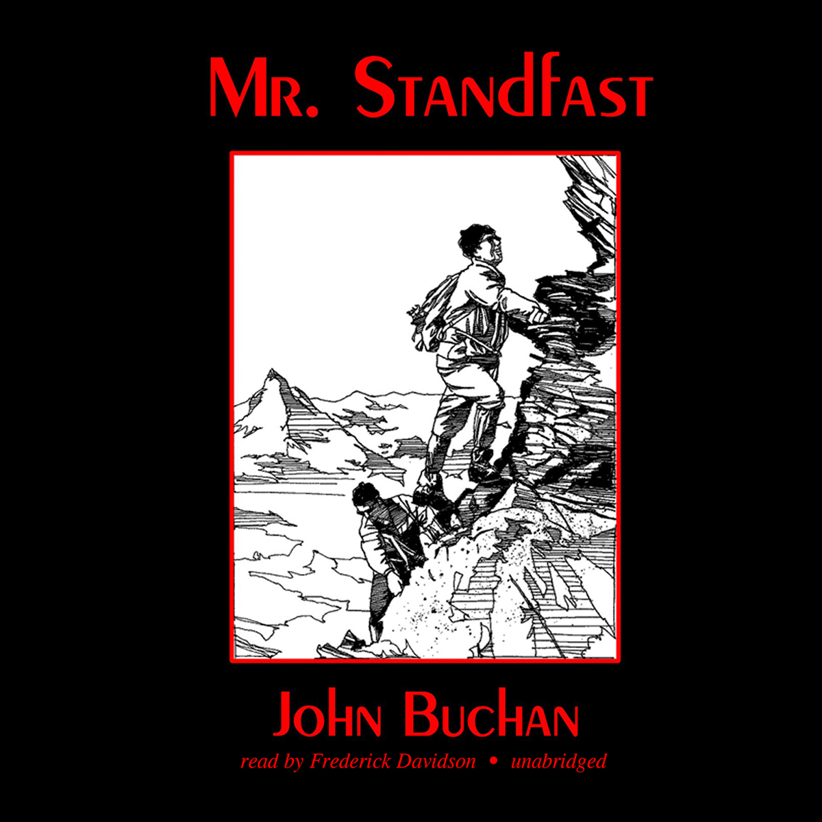 Printable Mr. Standfast Audiobook Cover Art