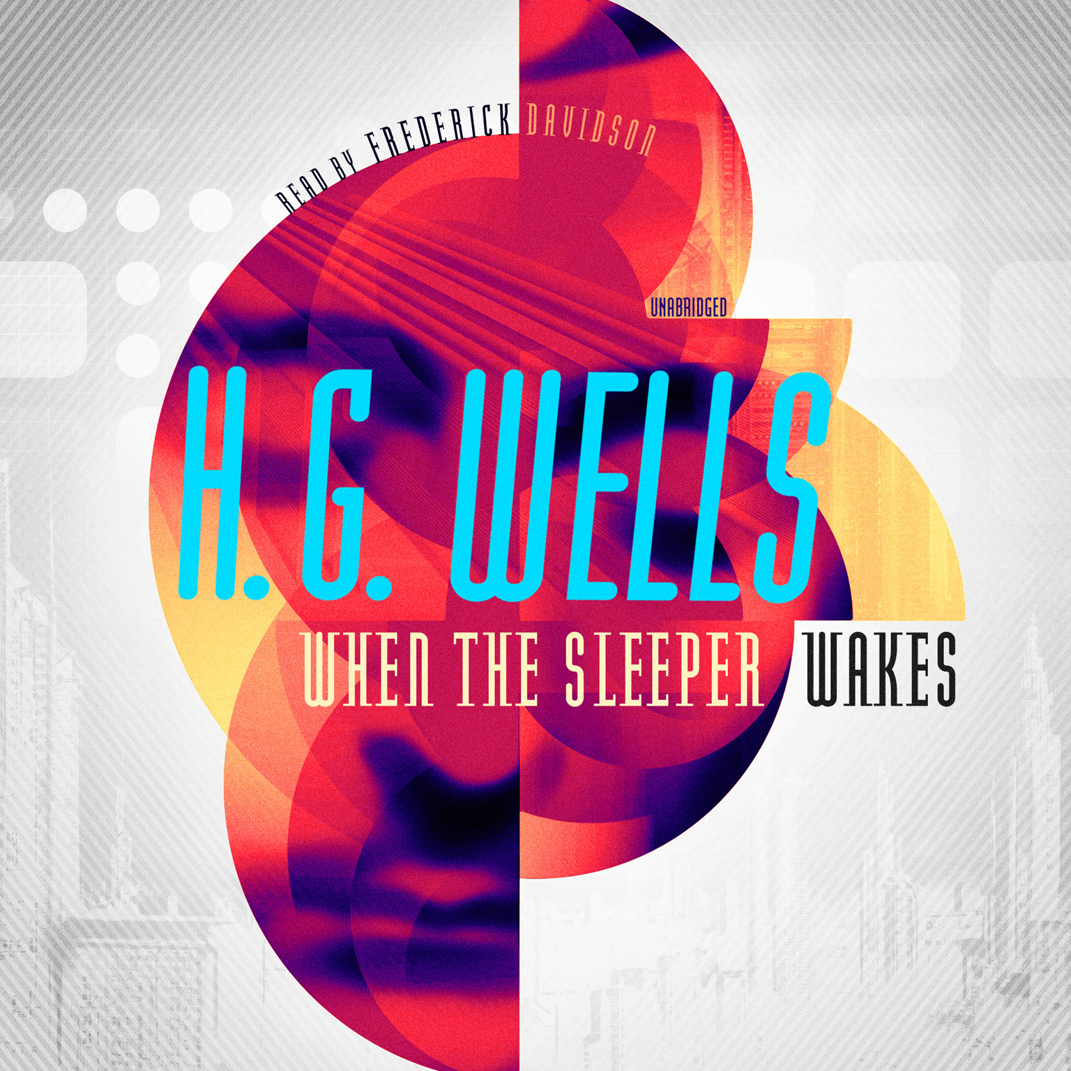 Printable When the Sleeper Wakes Audiobook Cover Art