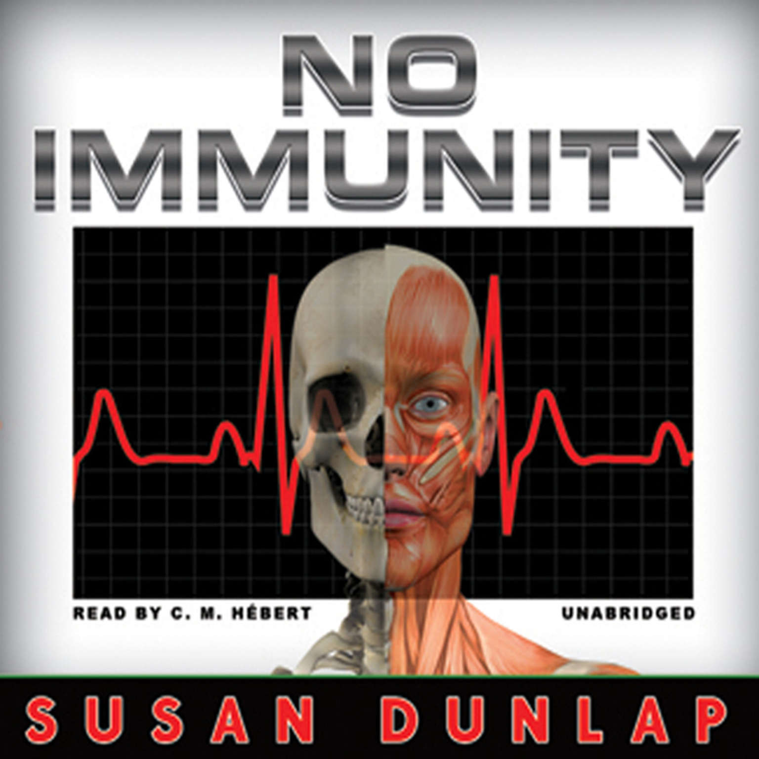 Printable No Immunity Audiobook Cover Art