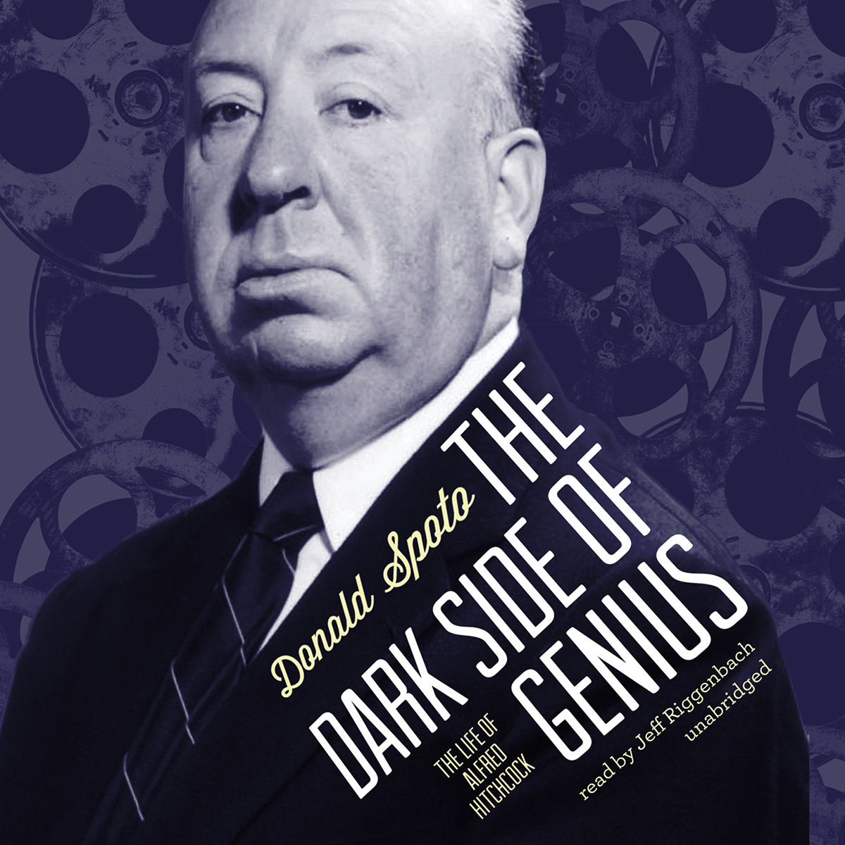 Printable The Dark Side of Genius: The Life of Alfred Hitchcock Audiobook Cover Art