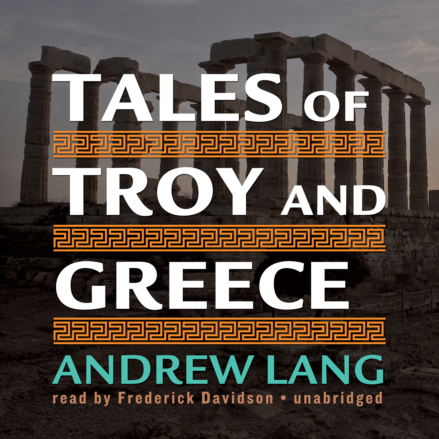 Printable Tales of Troy and Greece Audiobook Cover Art
