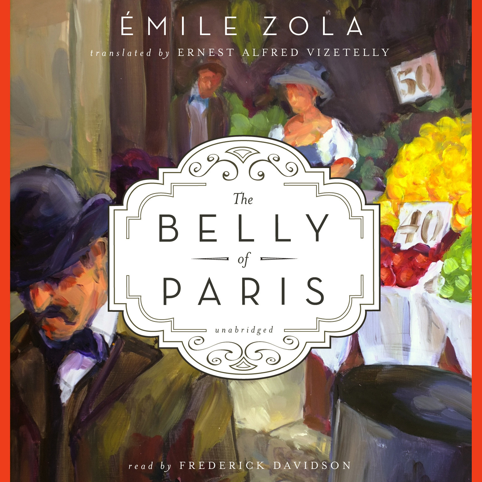 Printable The Belly of Paris Audiobook Cover Art