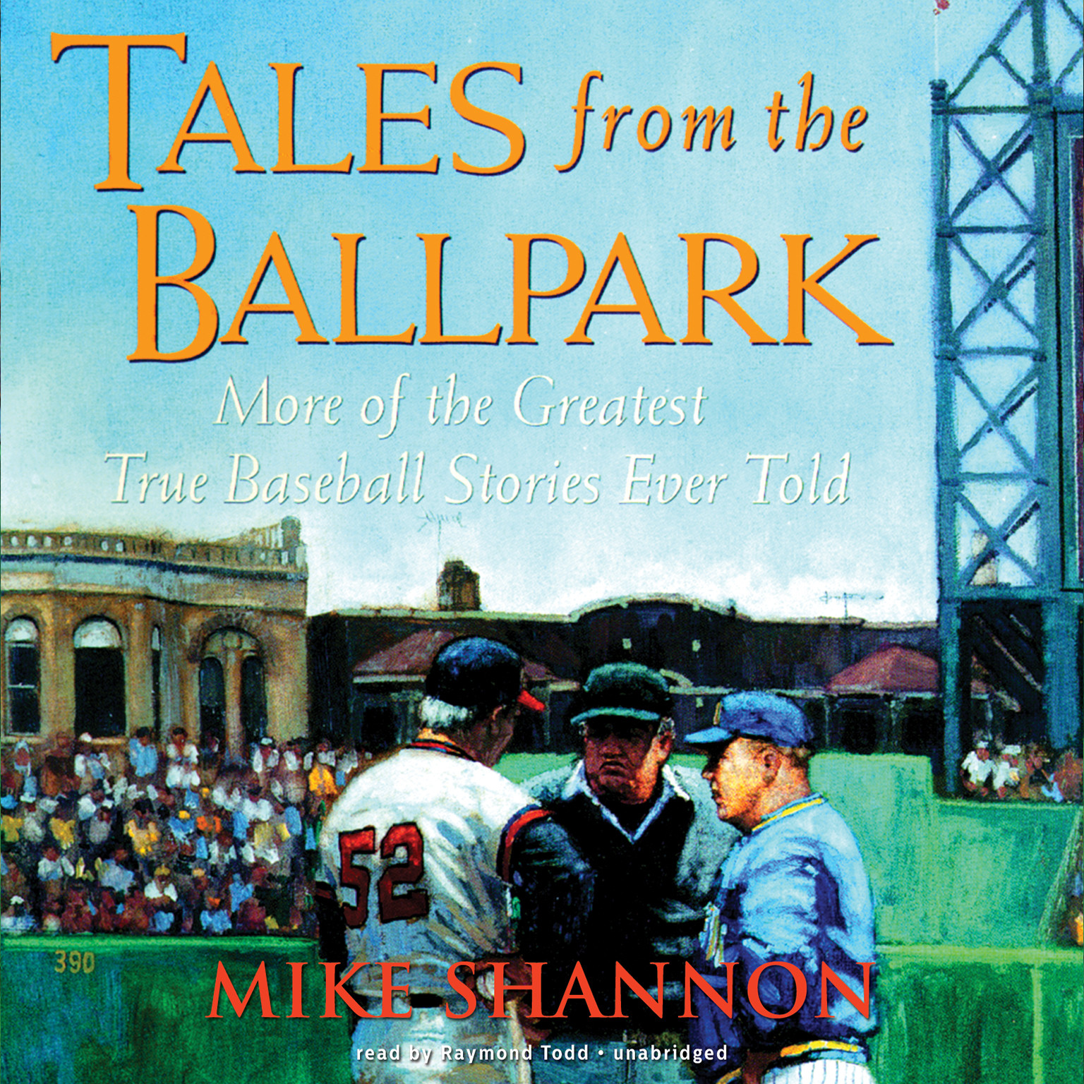 Printable Tales from the Ballpark Audiobook Cover Art