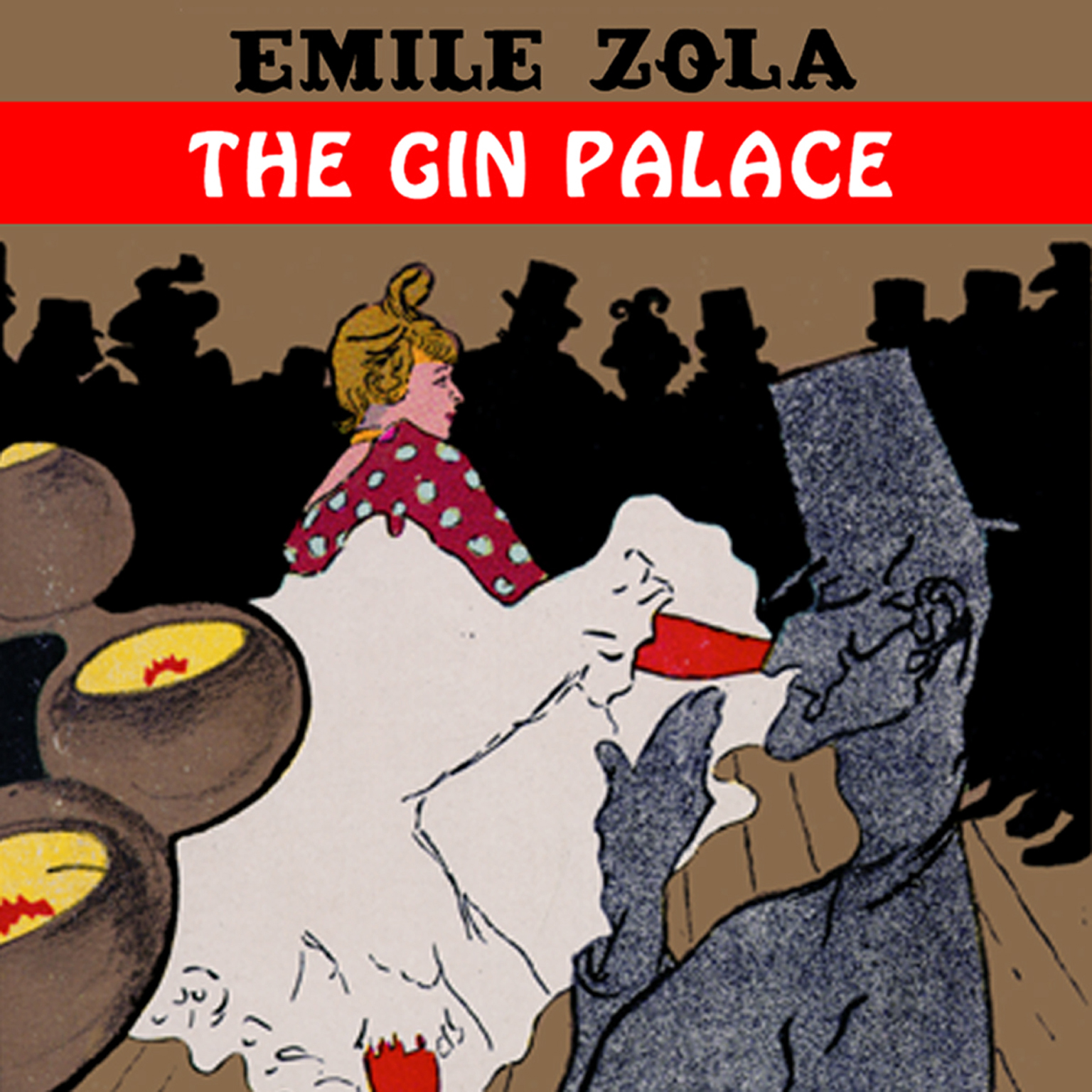 Printable The Gin Palace Audiobook Cover Art