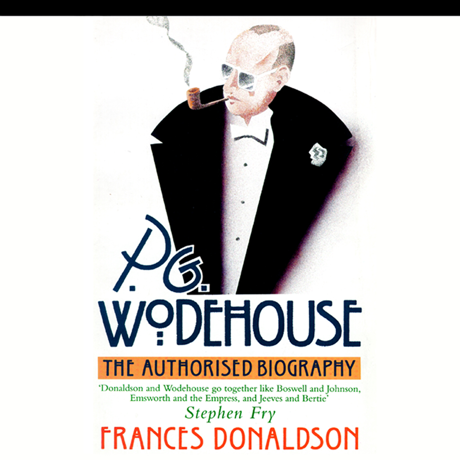 Printable P. G. Wodehouse: A Biography Audiobook Cover Art
