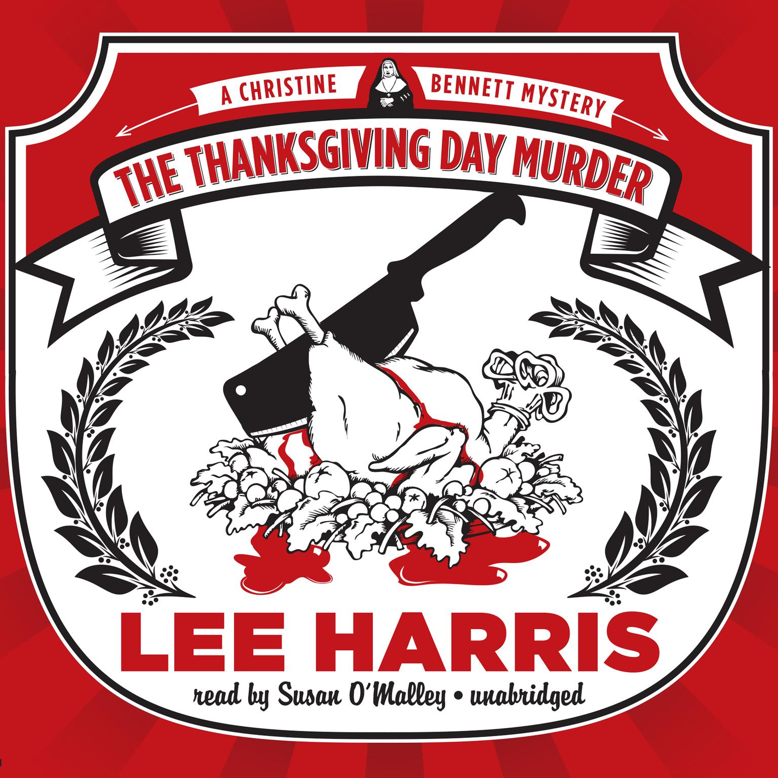 Printable The Thanksgiving Day Murder: A Christine Bennett Mystery Audiobook Cover Art
