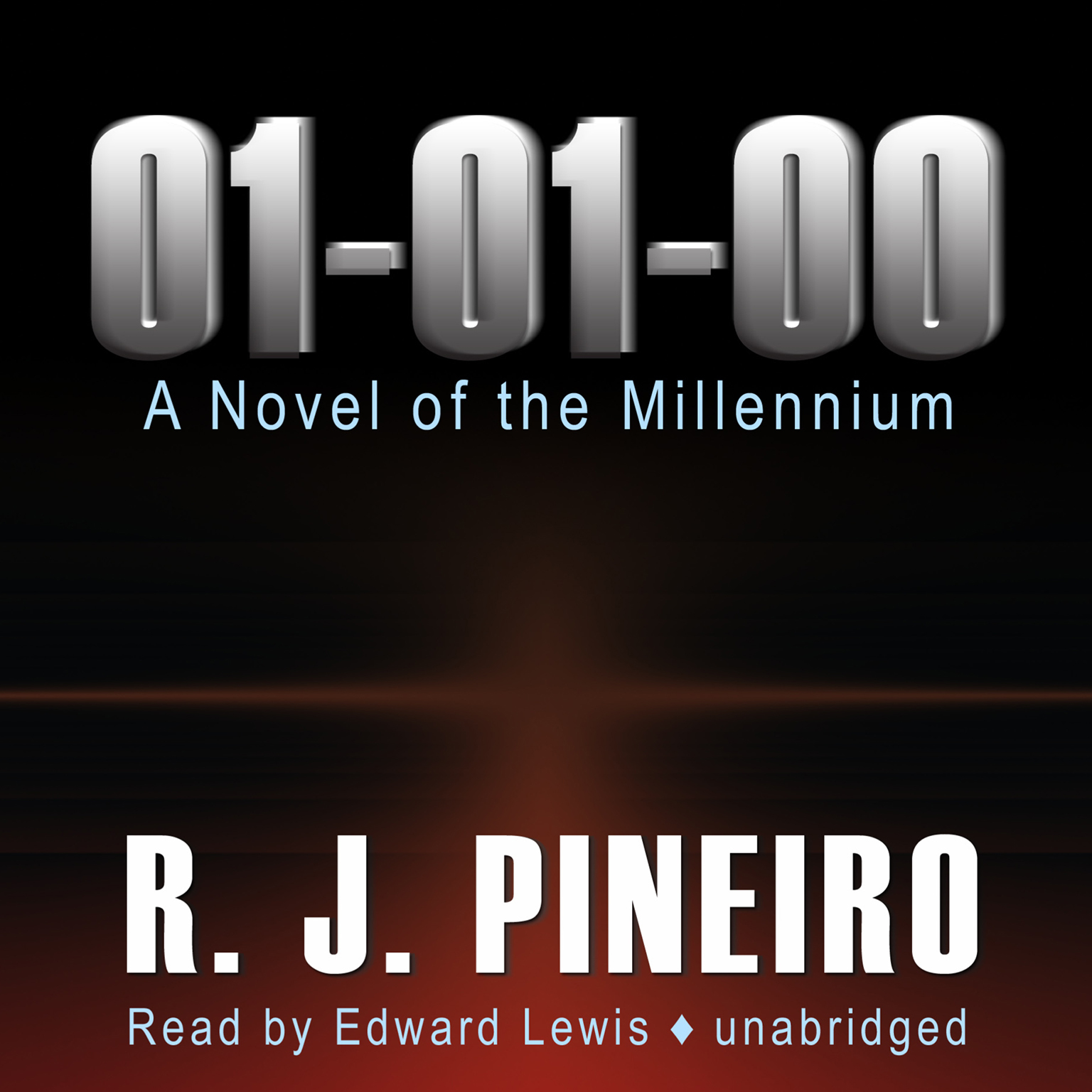 Printable 01-01-00: The Novel of the Millennium Audiobook Cover Art