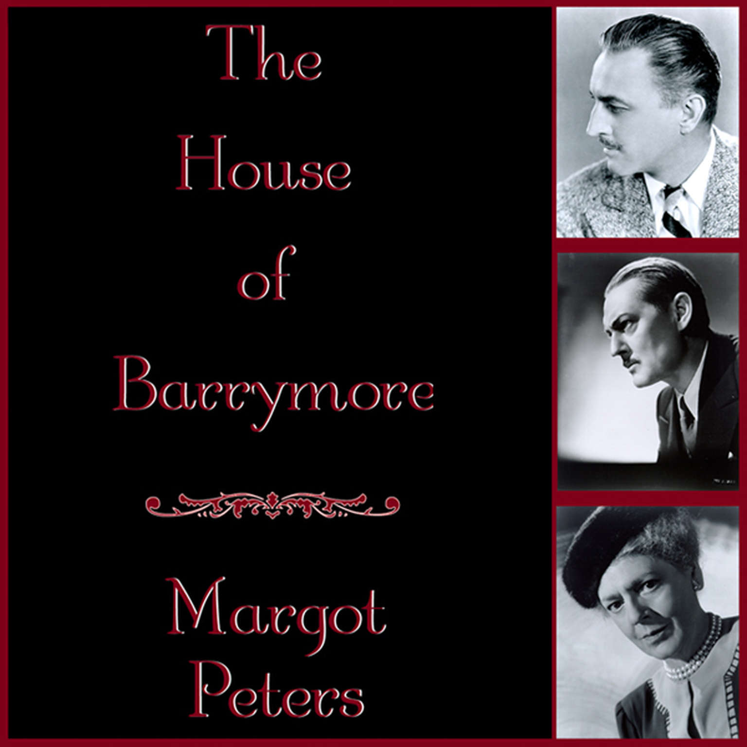 Printable The House of Barrymore Audiobook Cover Art