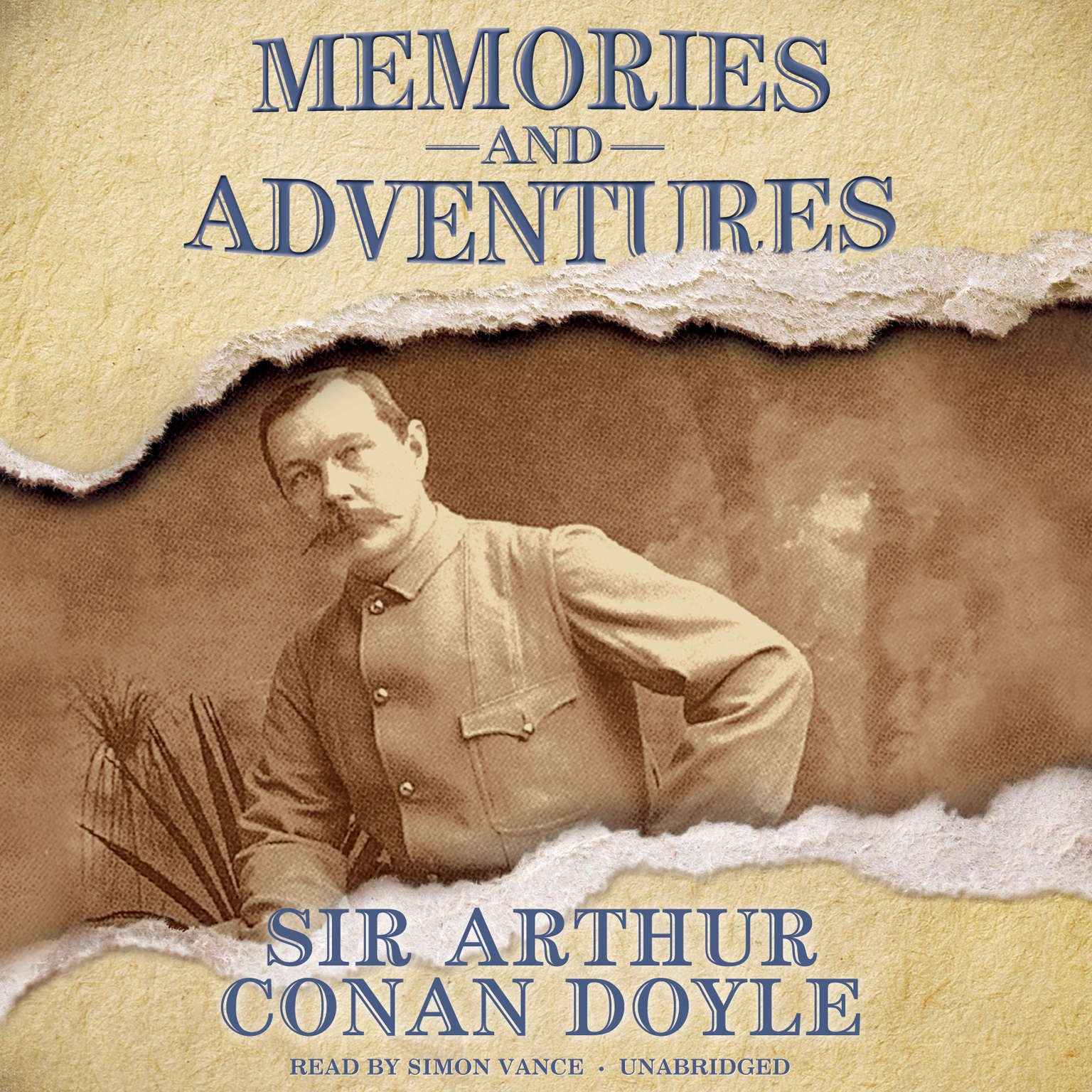 Printable Memories and Adventures Audiobook Cover Art