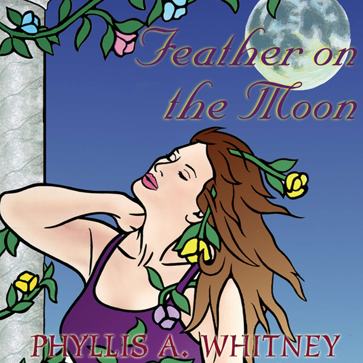 Printable Feather on the Moon Audiobook Cover Art