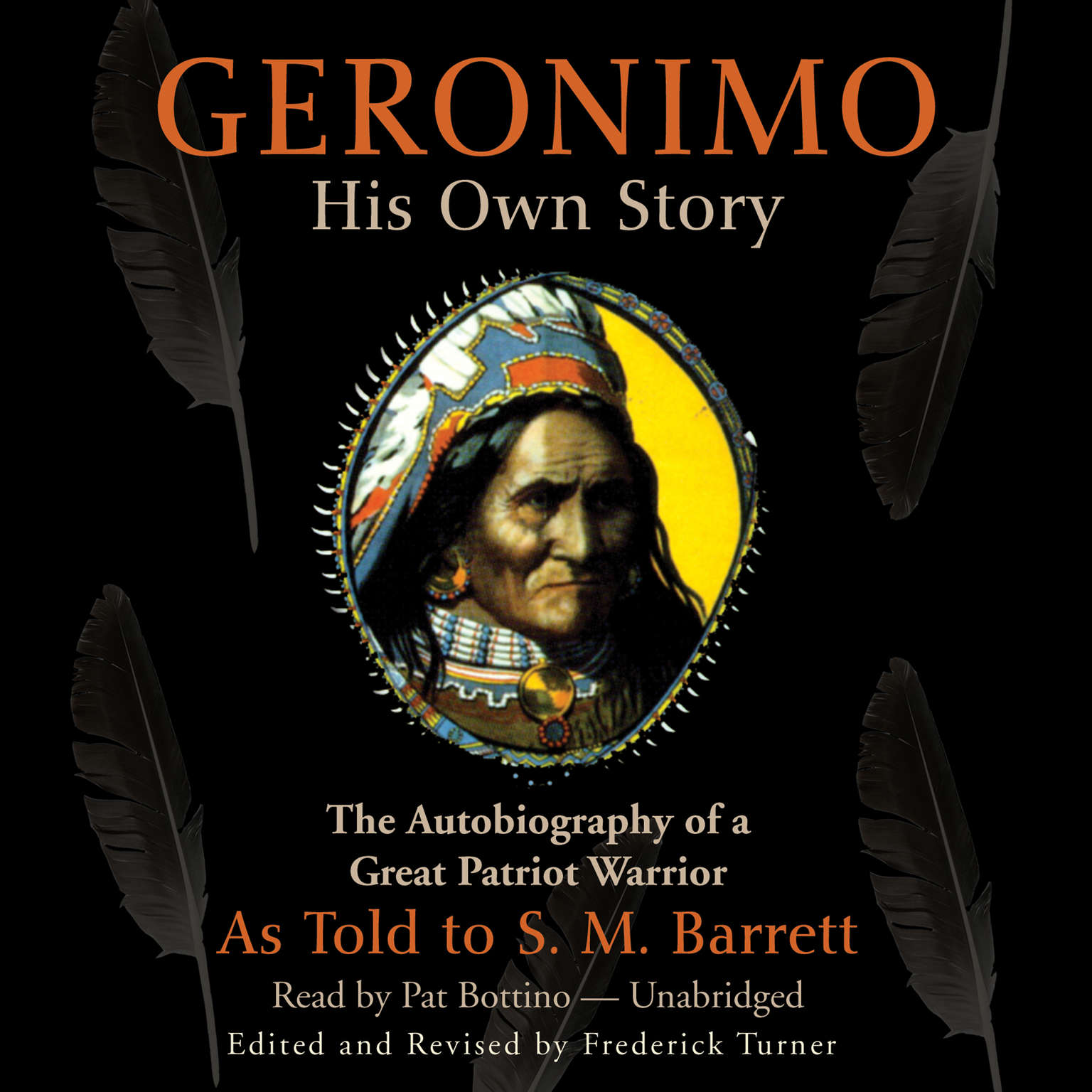 Printable Geronimo: His Own Story Audiobook Cover Art