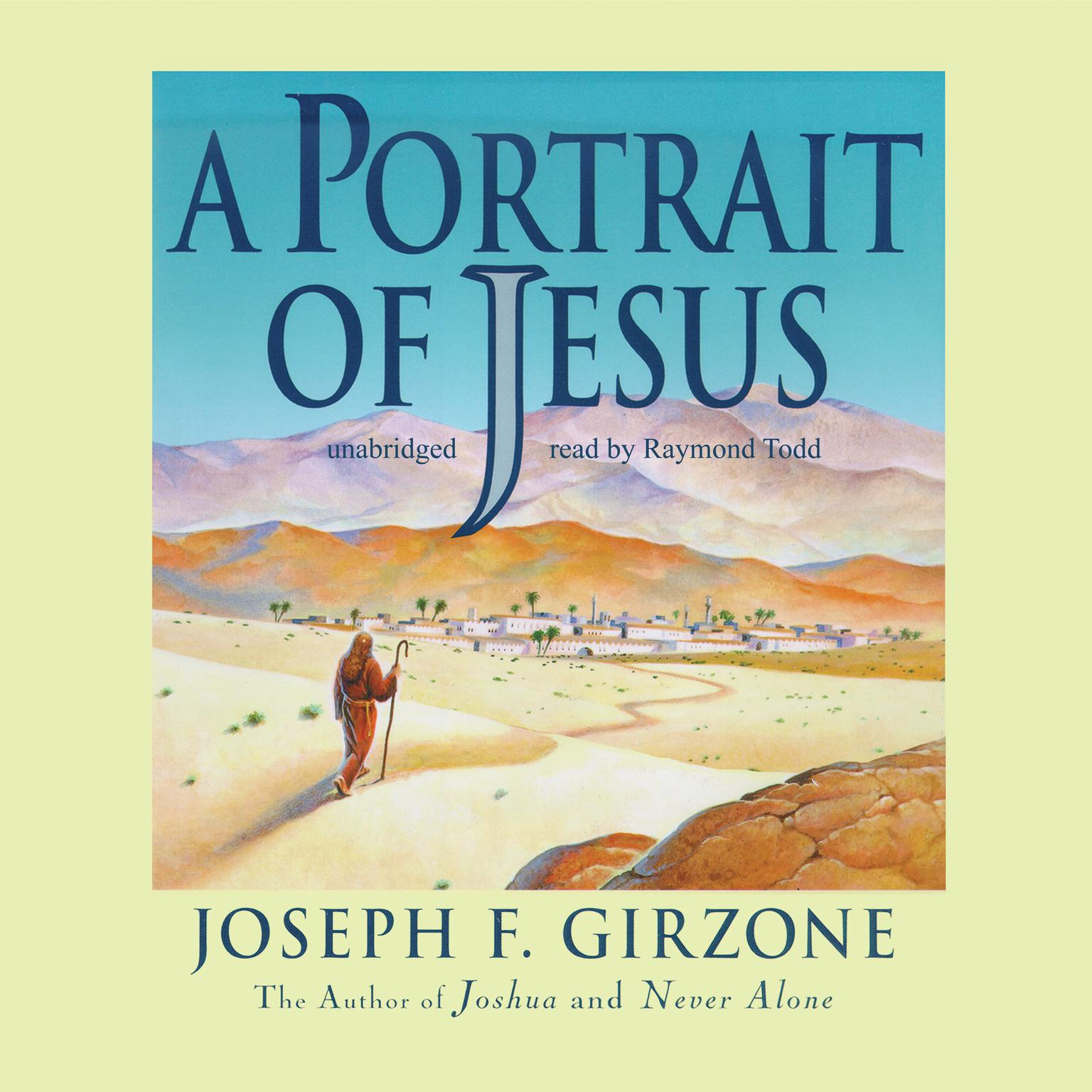 Printable A Portrait of Jesus Audiobook Cover Art