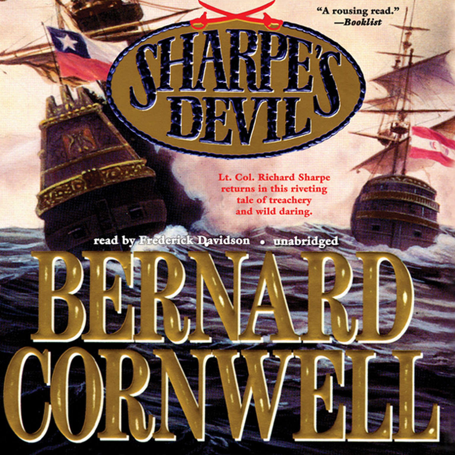 Printable Sharpe's Devil: Richard Sharpe and the Emperor, 1820–1821 Audiobook Cover Art