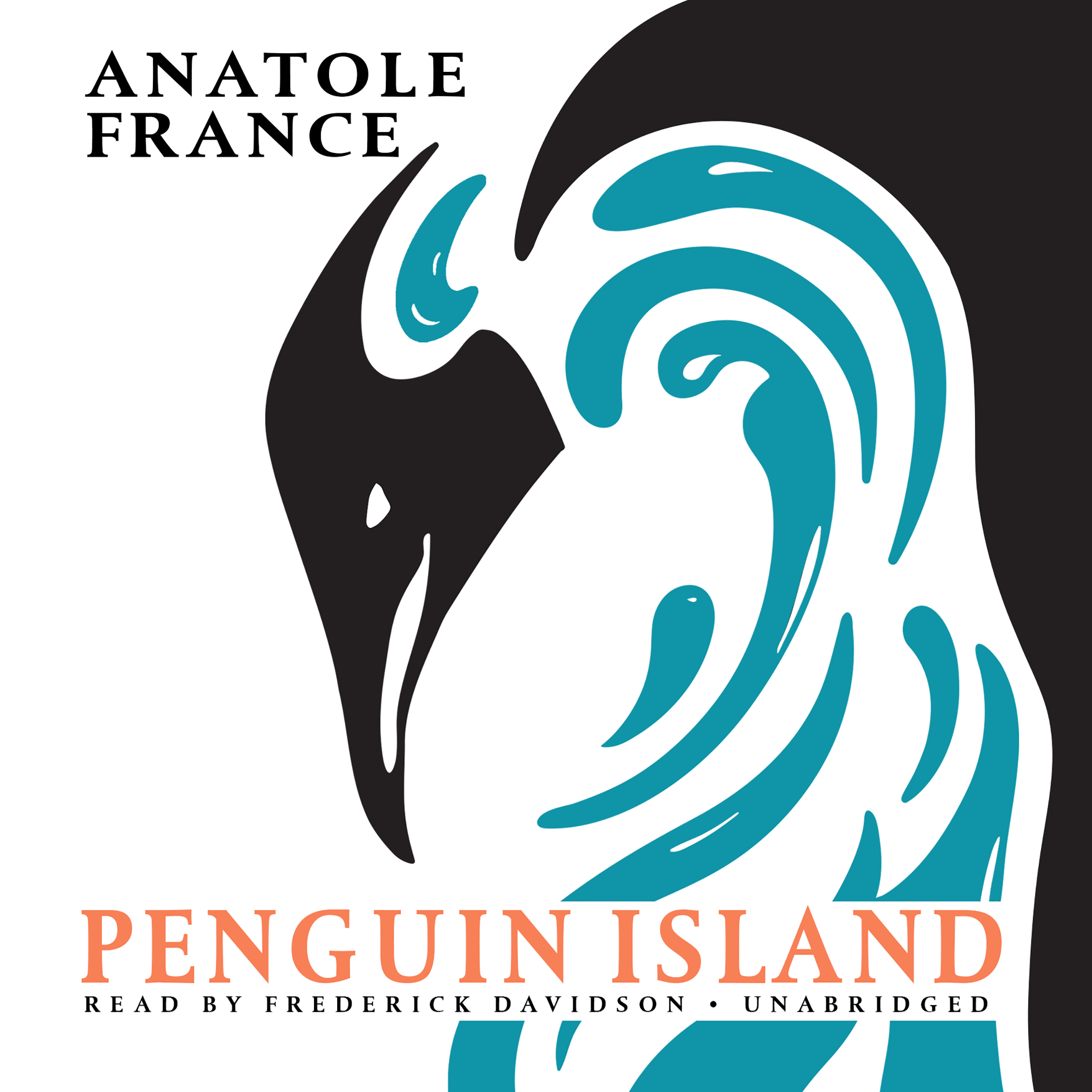 Printable Penguin Island Audiobook Cover Art