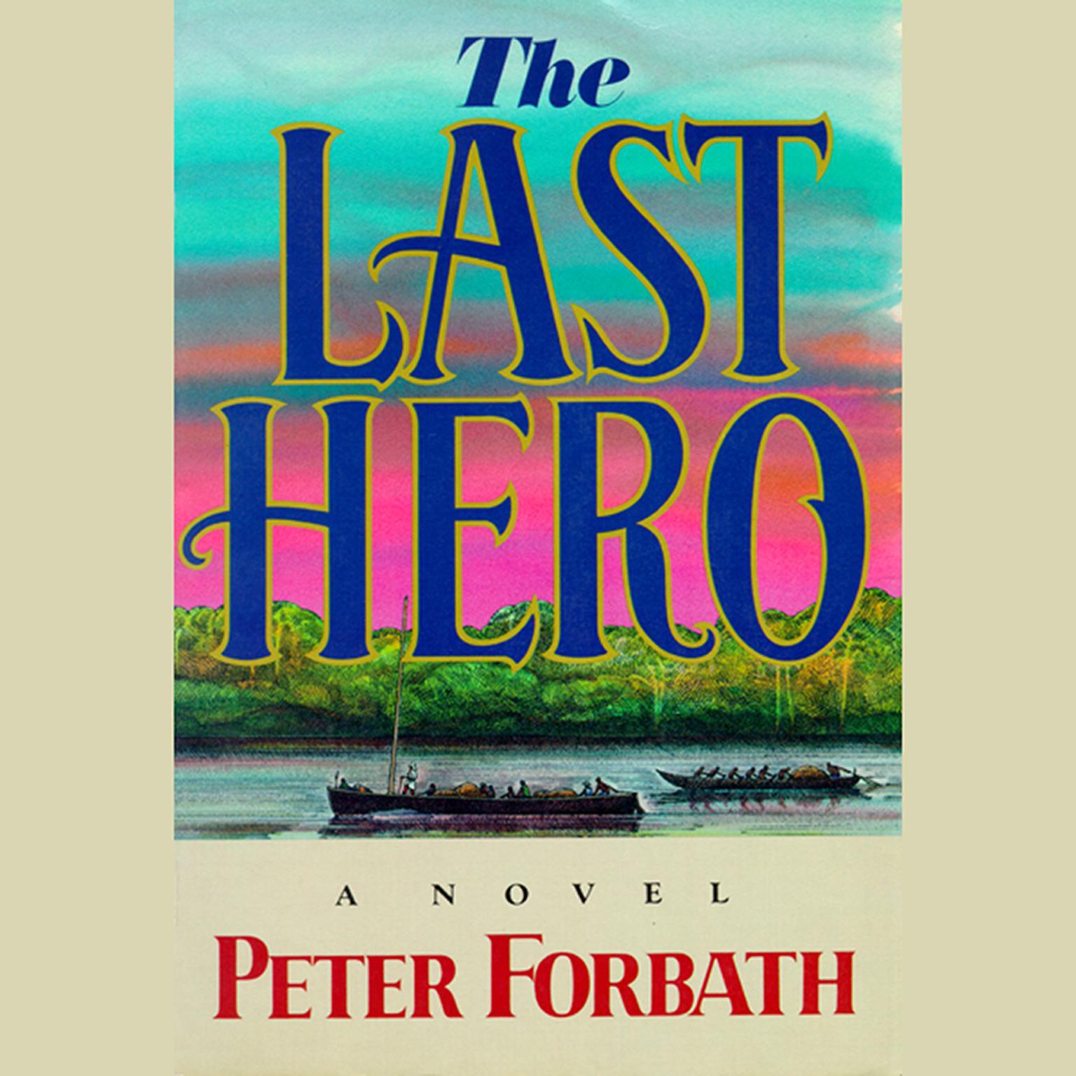 Printable The Last Hero Audiobook Cover Art