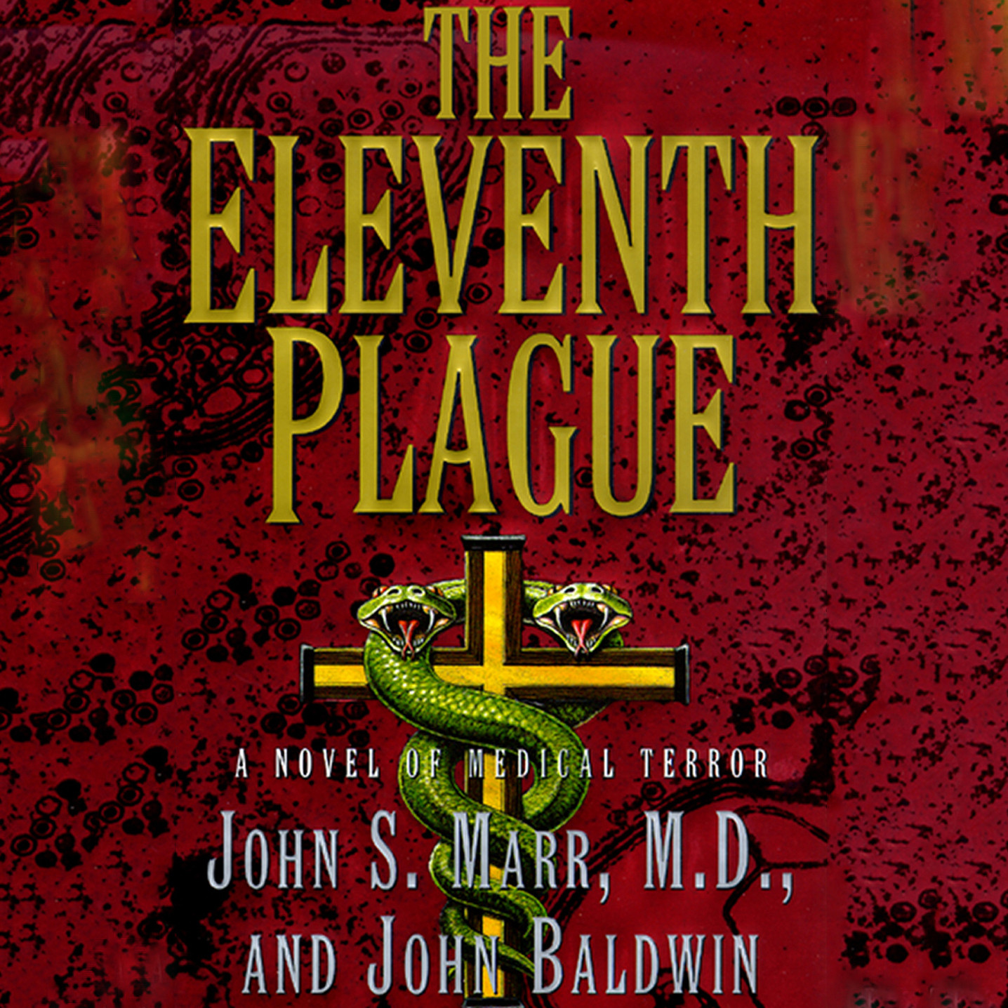 Printable The Eleventh Plague Audiobook Cover Art