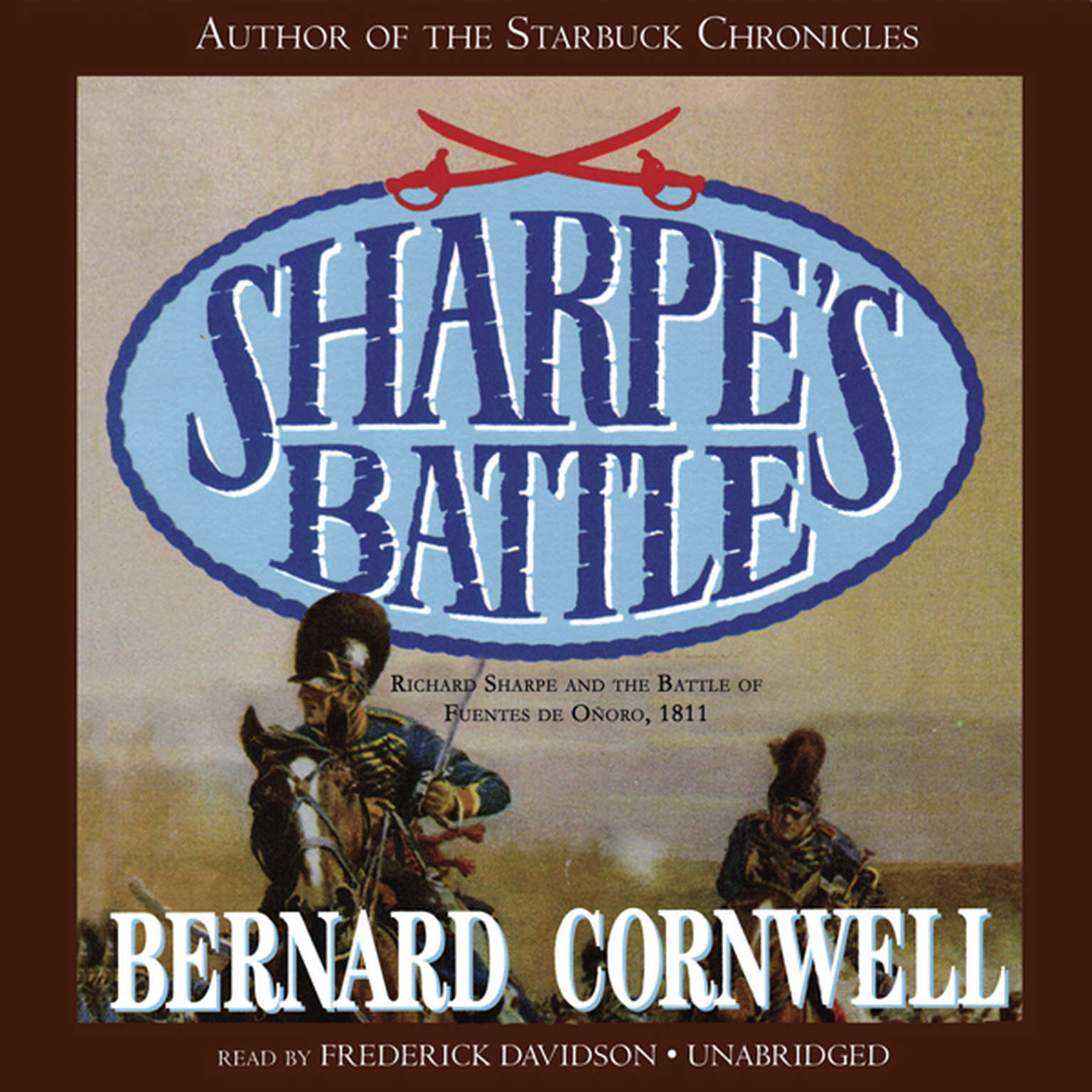 Printable Sharpe's Battle: Richard Sharpe and the Battle of Fuentes de Oñoro, May 1811 Audiobook Cover Art
