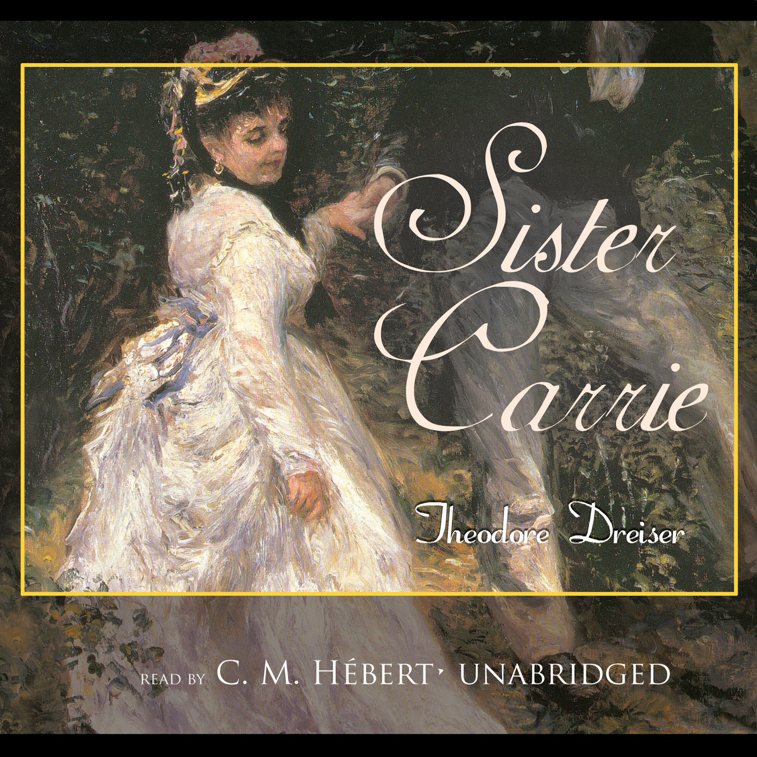 Printable Sister Carrie Audiobook Cover Art