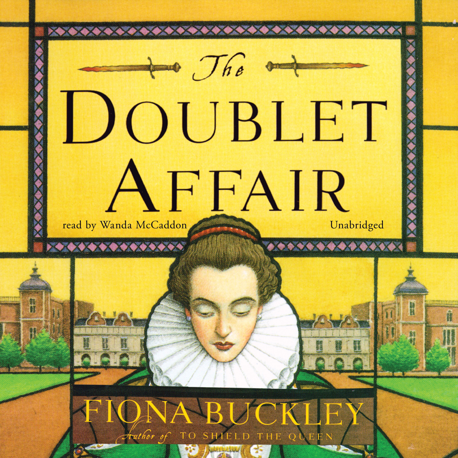 Printable The Doublet Affair: A Mystery at Queen Elizabeth I's Court Audiobook Cover Art