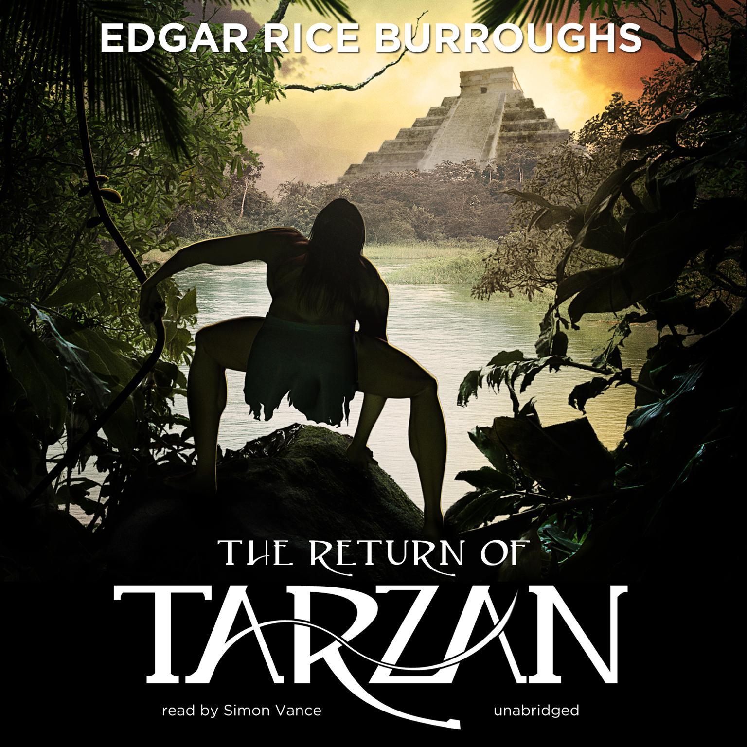 Printable The Return of Tarzan Audiobook Cover Art
