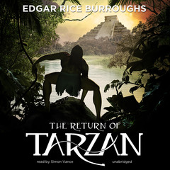 The Return of Tarzan Audiobook, by Edgar Rice Burroughs