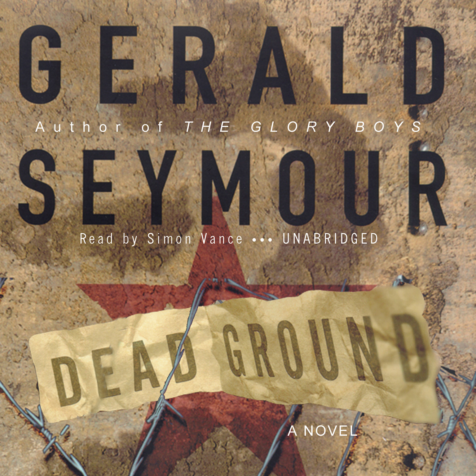 Printable Dead Ground Audiobook Cover Art