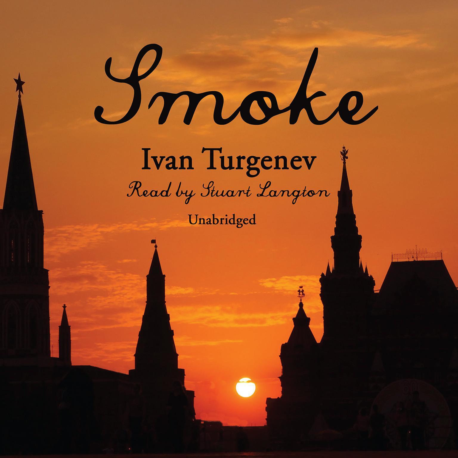 Printable Smoke Audiobook Cover Art