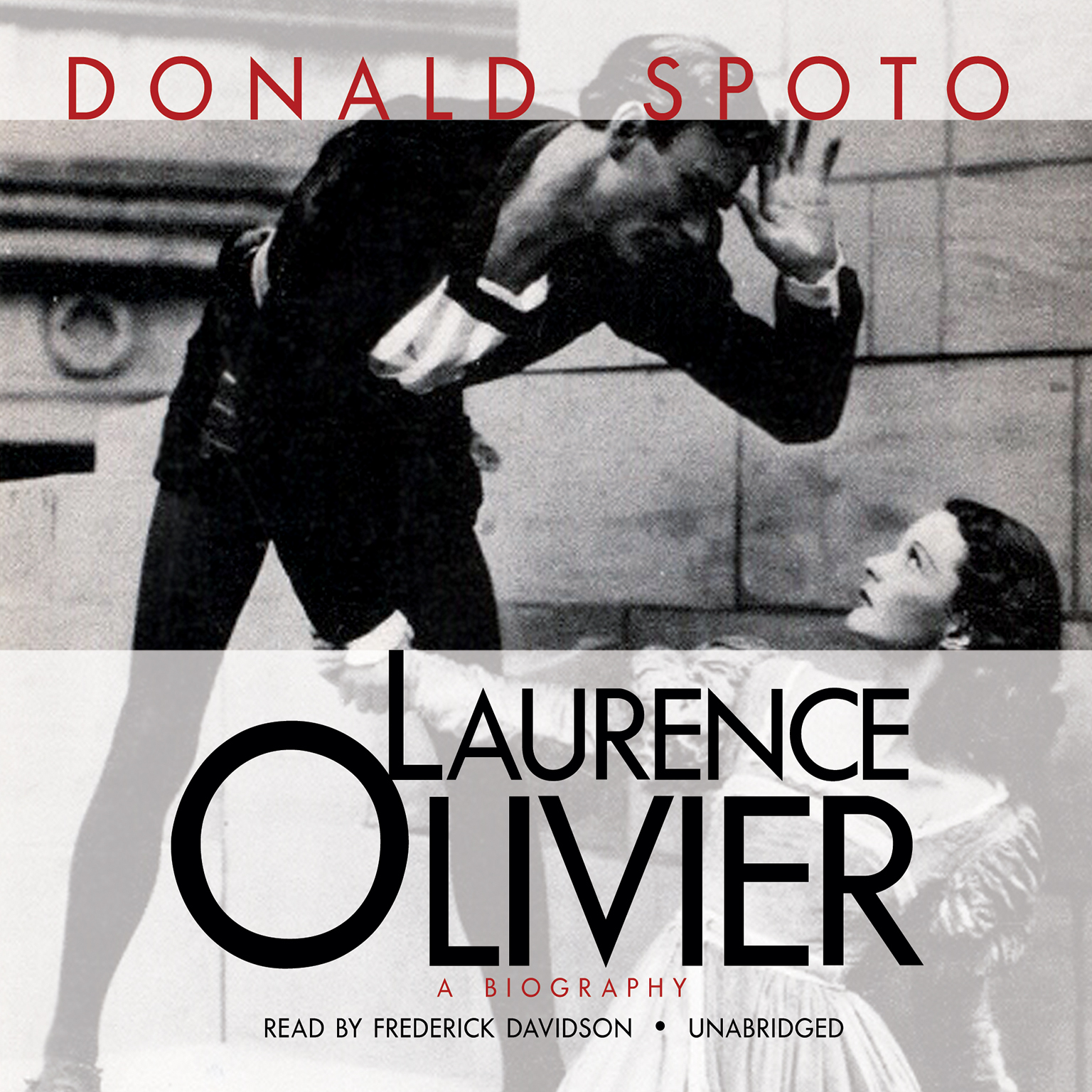 Printable Laurence Olivier: A Biography Audiobook Cover Art