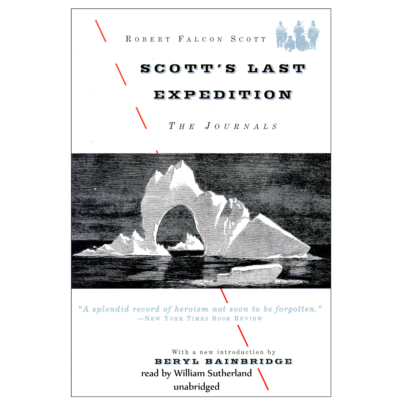 Printable Scott's Last Expedition: The Journals Audiobook Cover Art