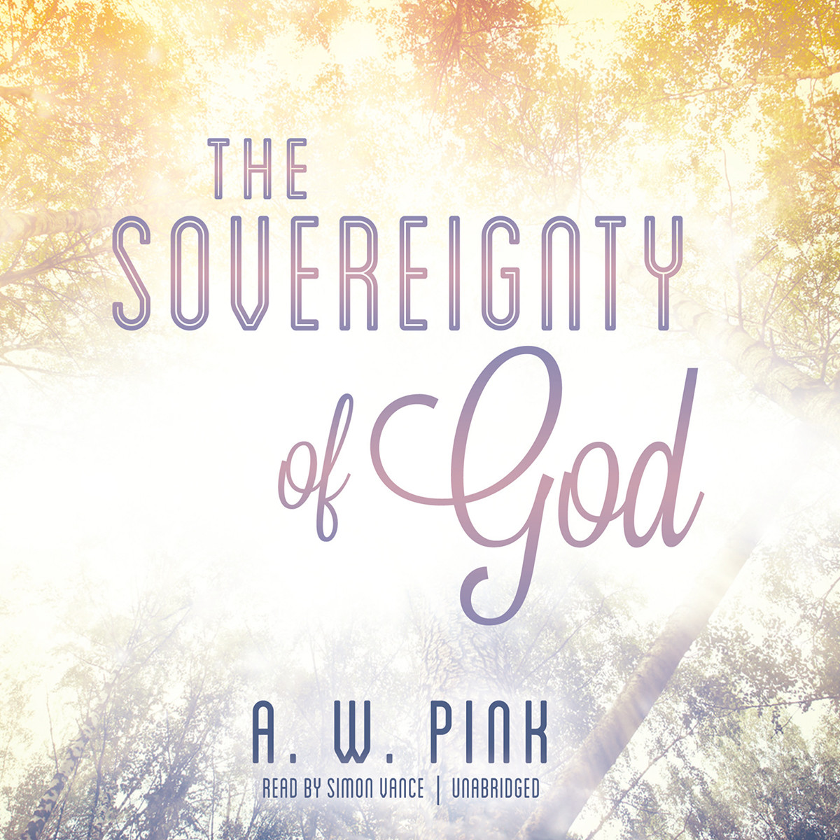 Printable The Sovereignty of God Audiobook Cover Art