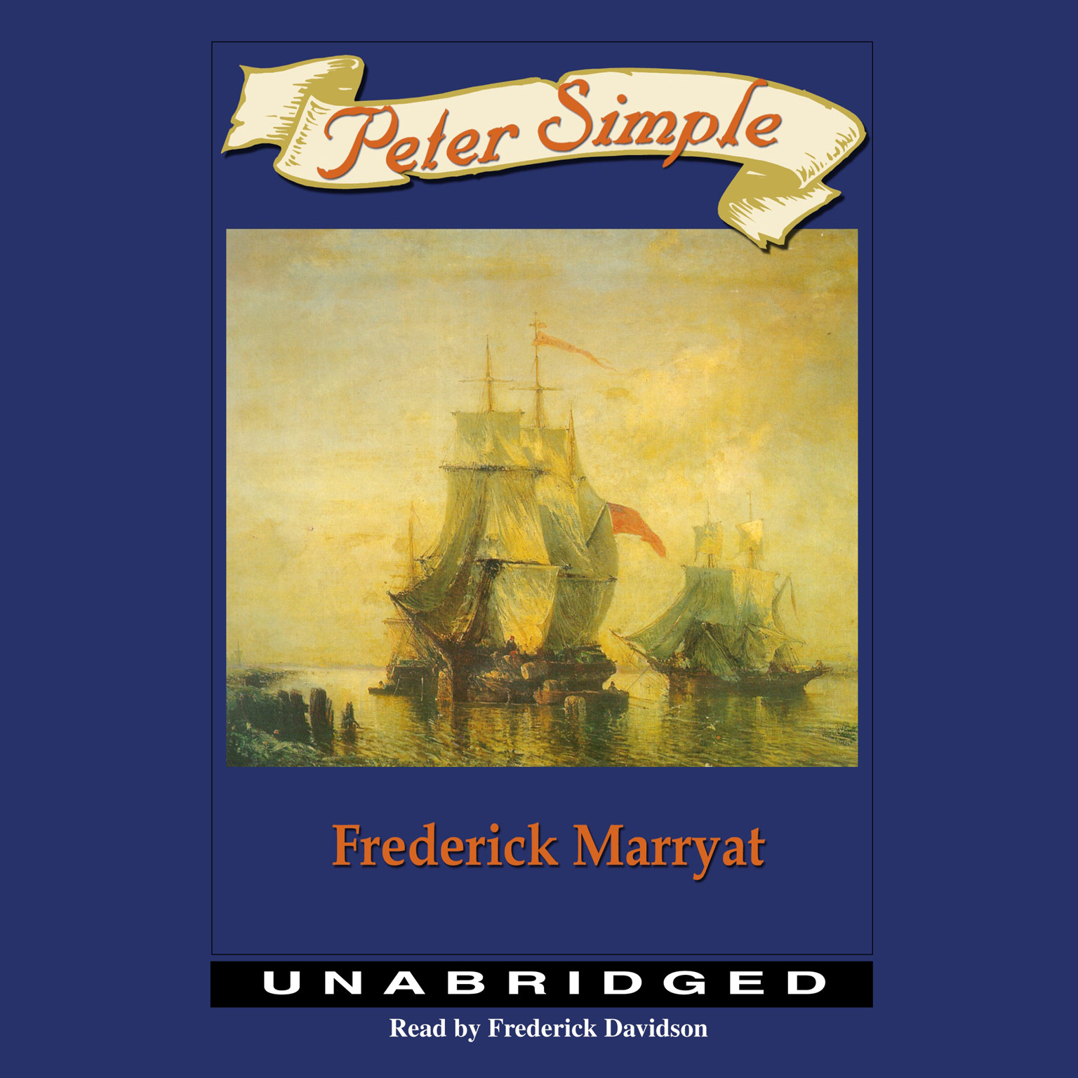 Printable Peter Simple Audiobook Cover Art