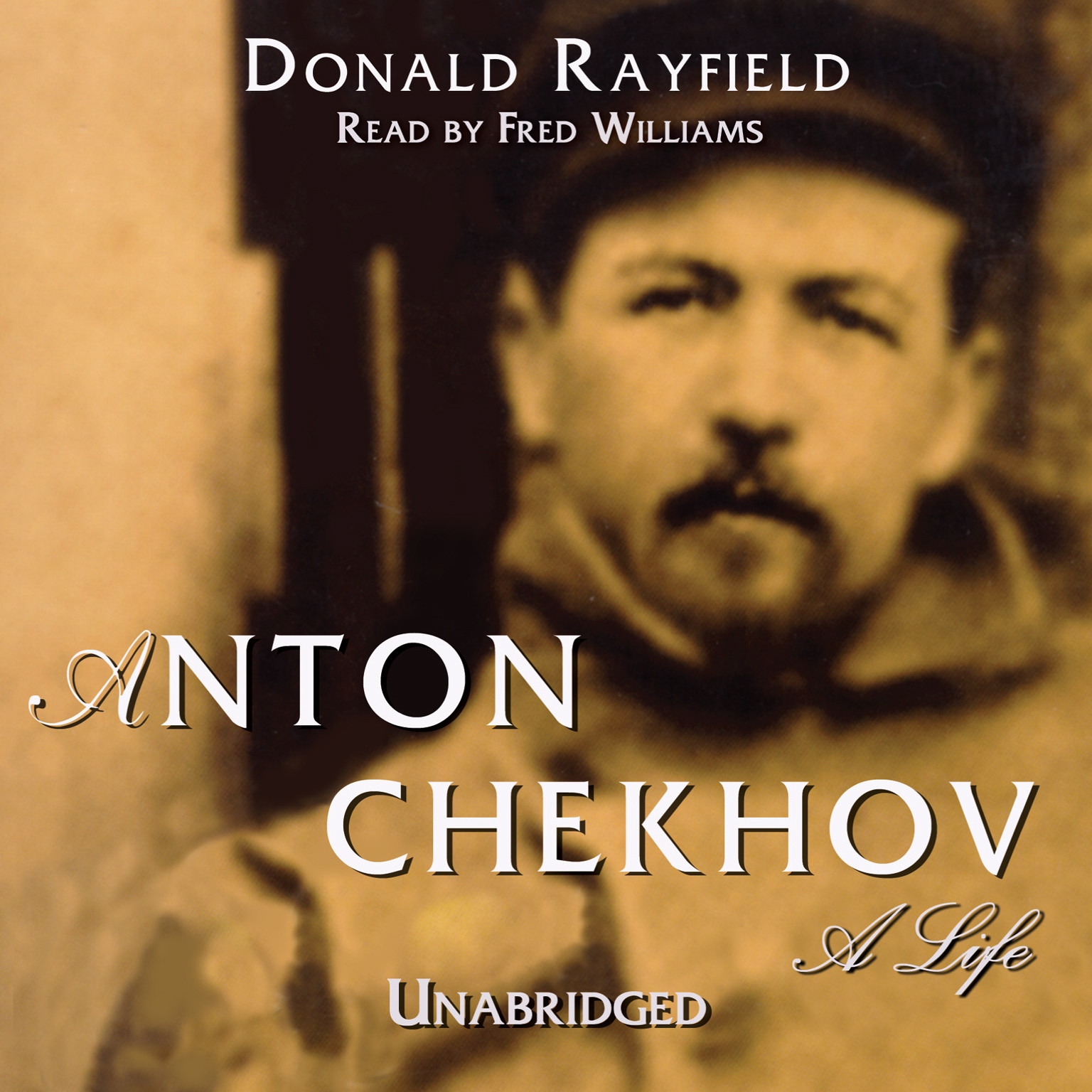 Printable Anton Chekhov: A Life Audiobook Cover Art