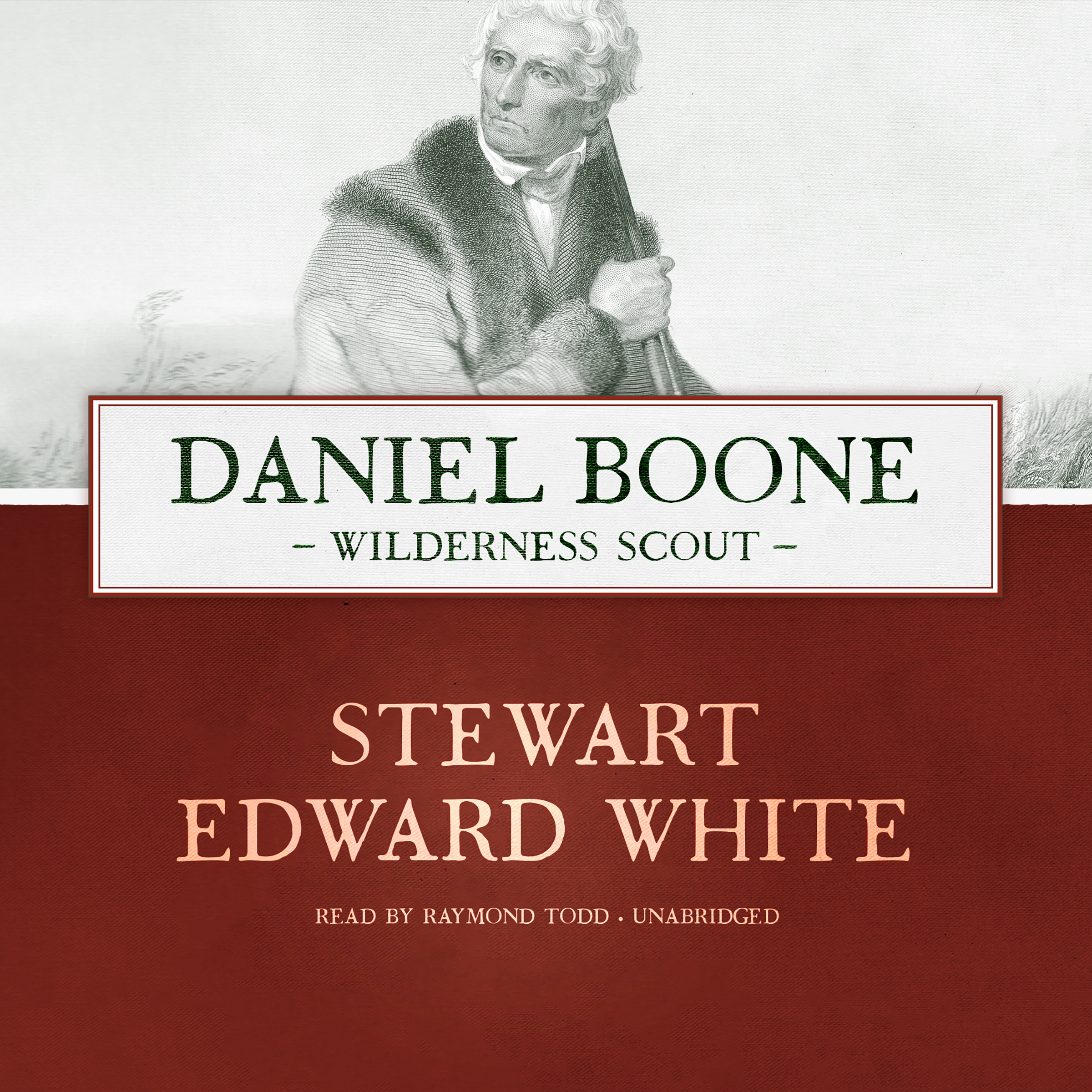 Printable Daniel Boone: Wilderness Scout Audiobook Cover Art