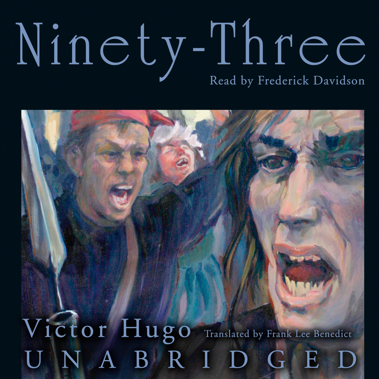 Printable Ninety-Three Audiobook Cover Art