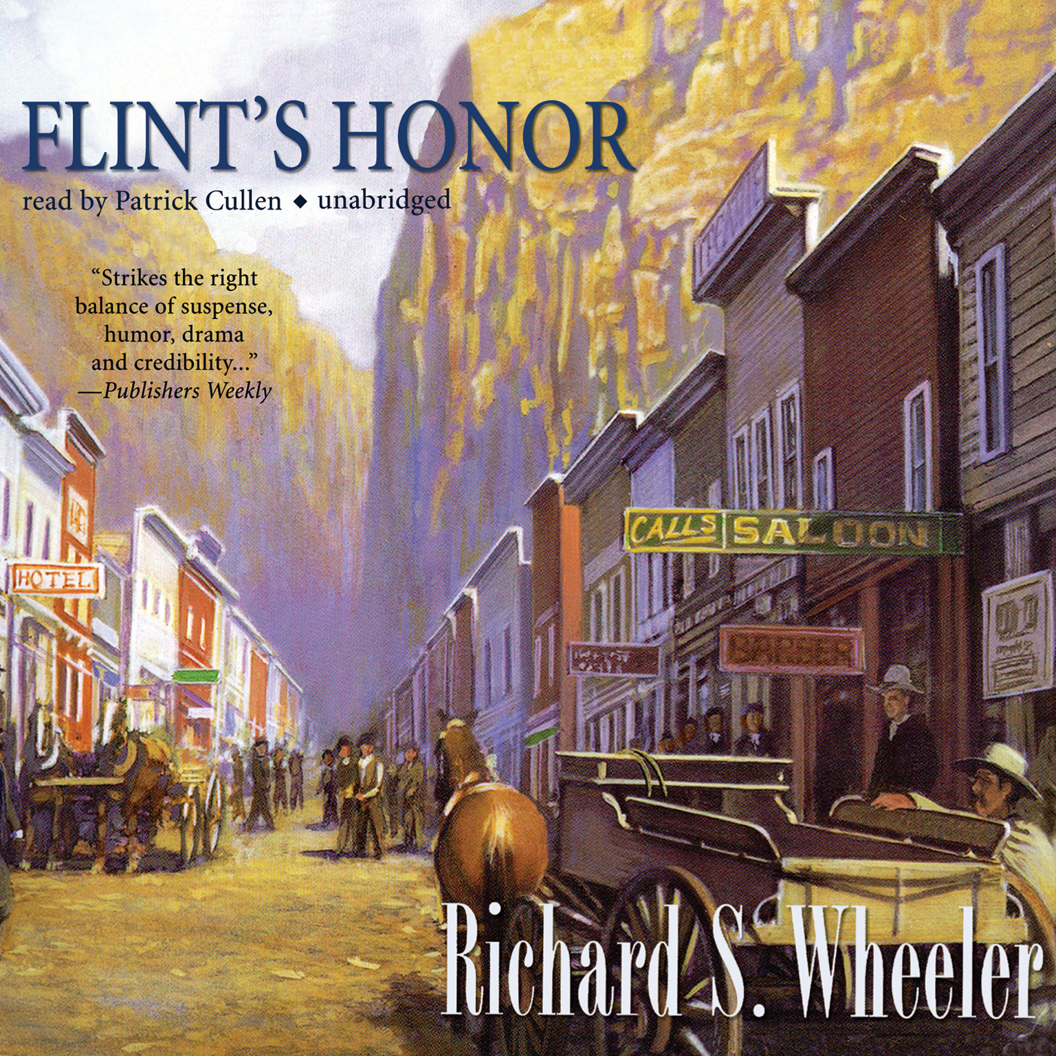 Printable Flint's Honor Audiobook Cover Art