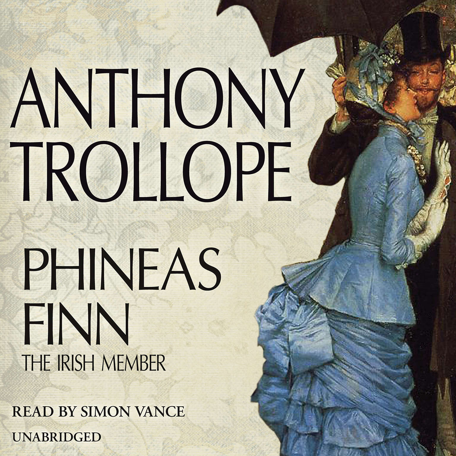 Printable Phineas Finn: The Irish Member Audiobook Cover Art