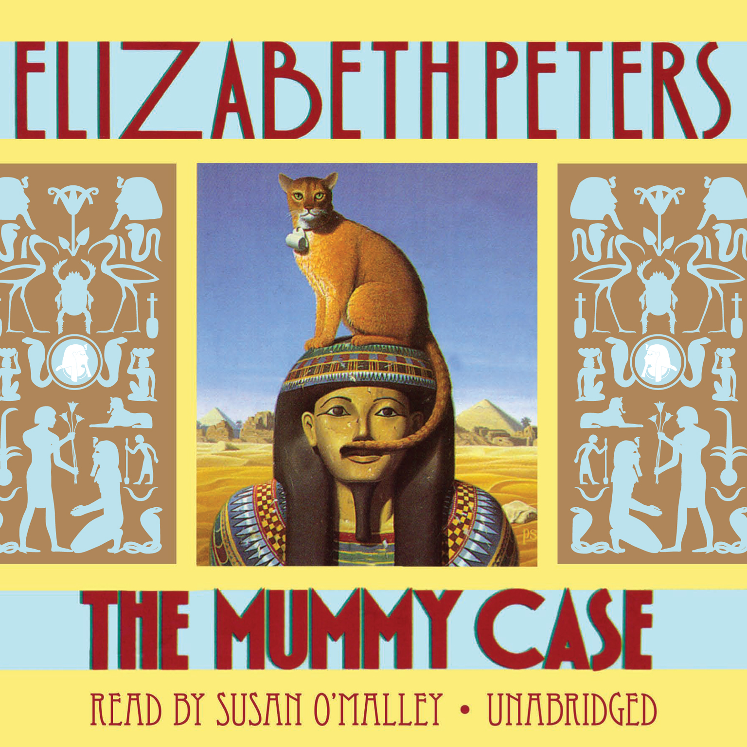 Printable The Mummy Case: An Amelia Peabody Mystery Audiobook Cover Art