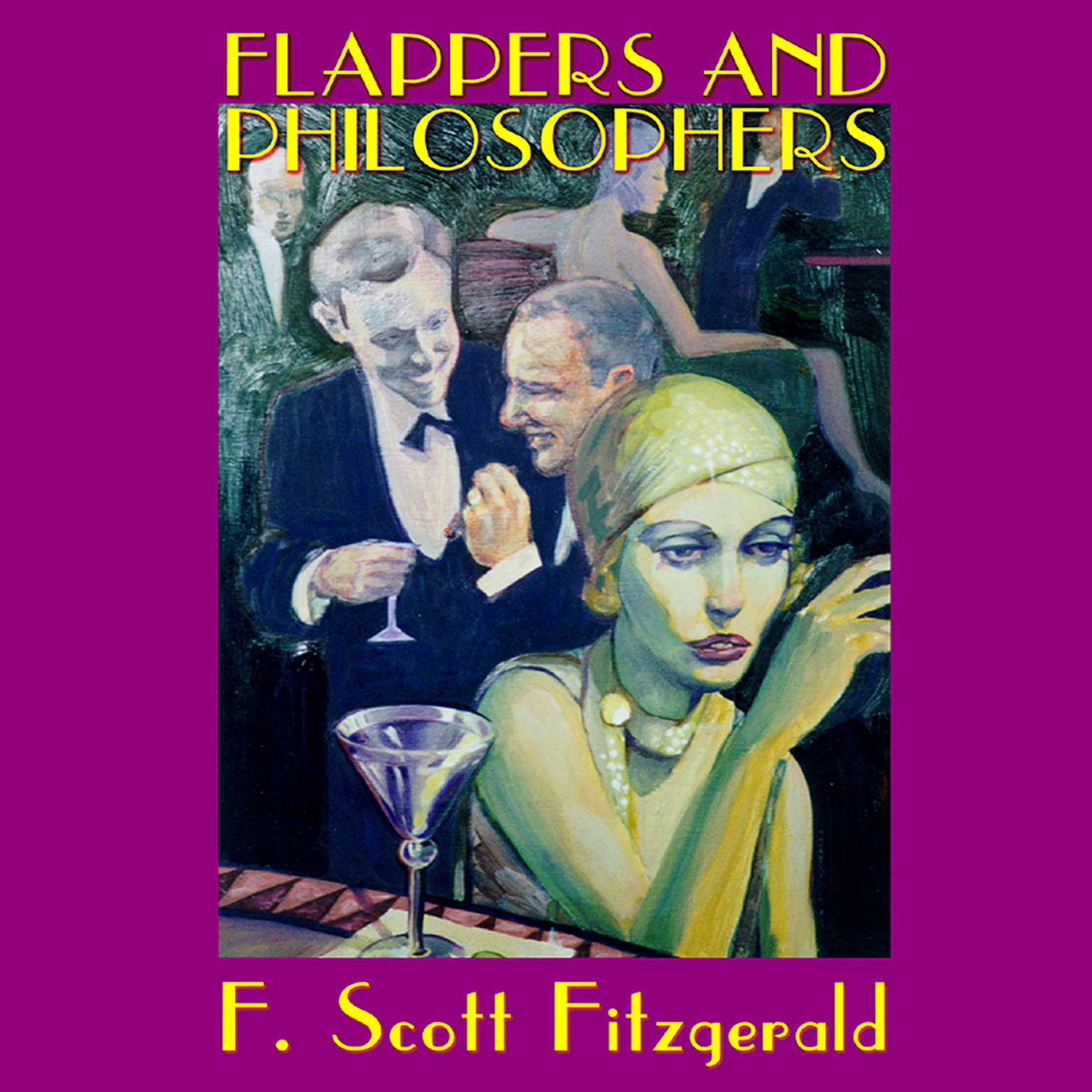 Printable Flappers and Philosophers Audiobook Cover Art