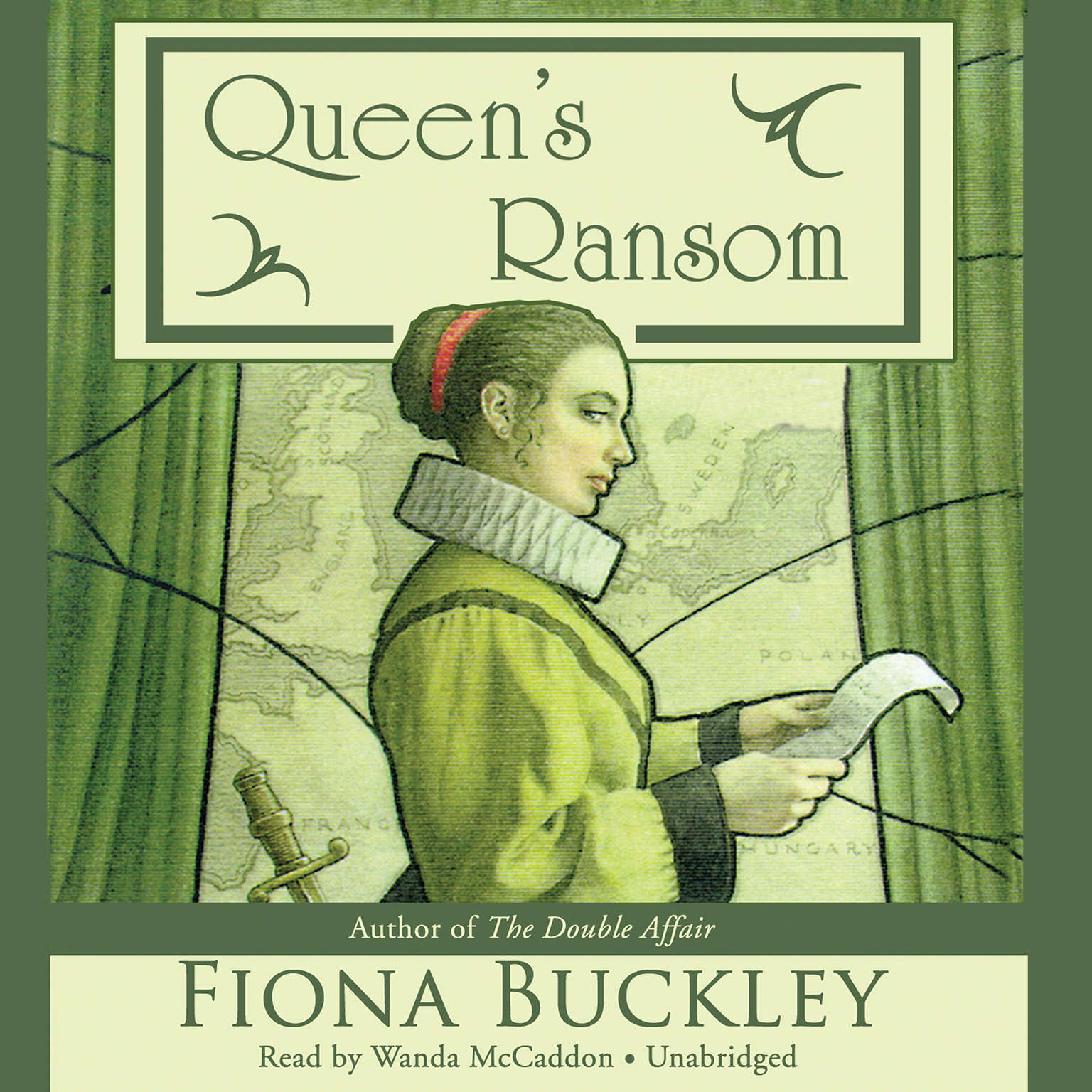 Printable Queen's Ransom Audiobook Cover Art