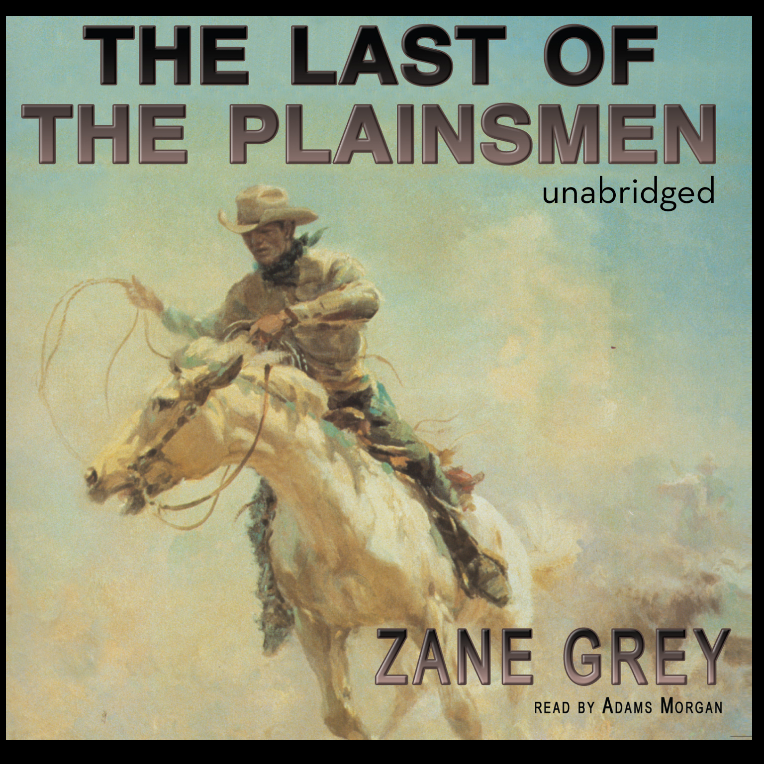 Printable The Last of the Plainsmen Audiobook Cover Art