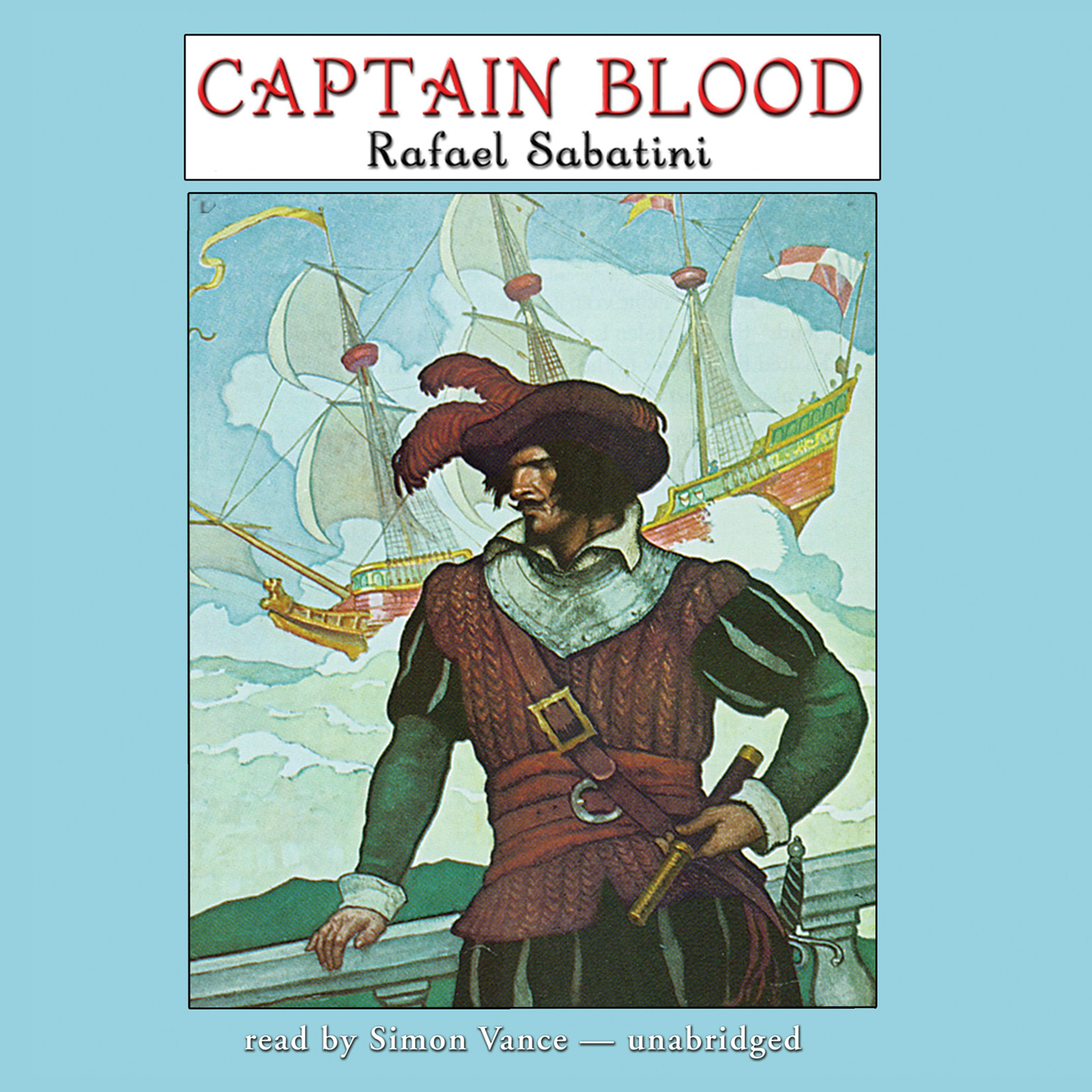 Printable Captain Blood: A Radio Dramatization Audiobook Cover Art