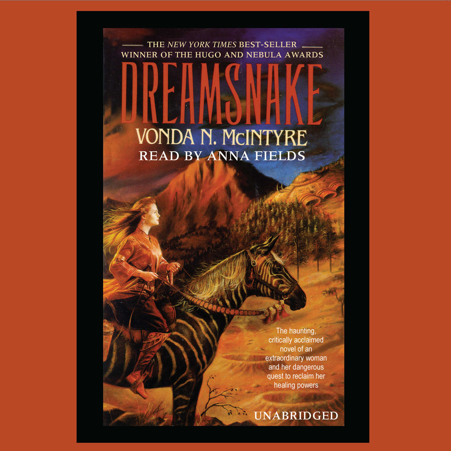 Printable Dreamsnake Audiobook Cover Art