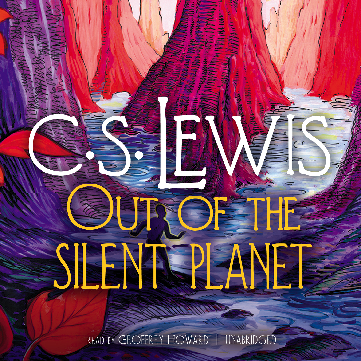 Printable Out of the Silent Planet Audiobook Cover Art