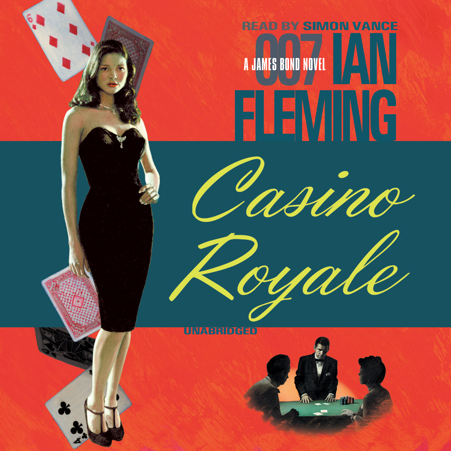 Printable Casino Royale Audiobook Cover Art