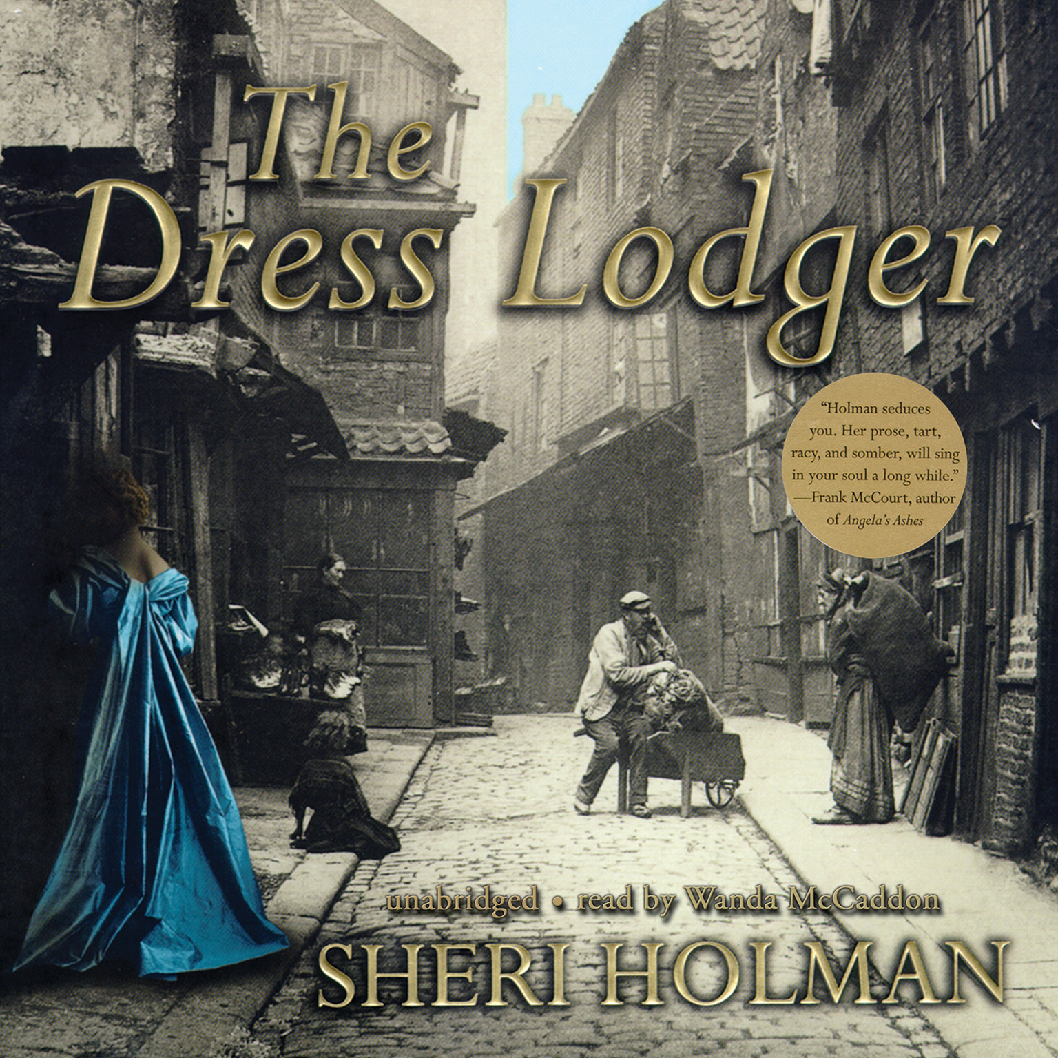 Printable The Dress Lodger Audiobook Cover Art