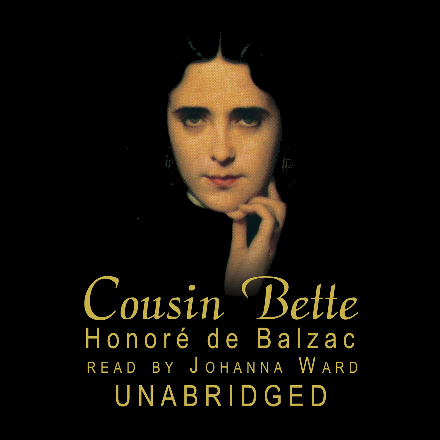 Printable Cousin Bette Audiobook Cover Art