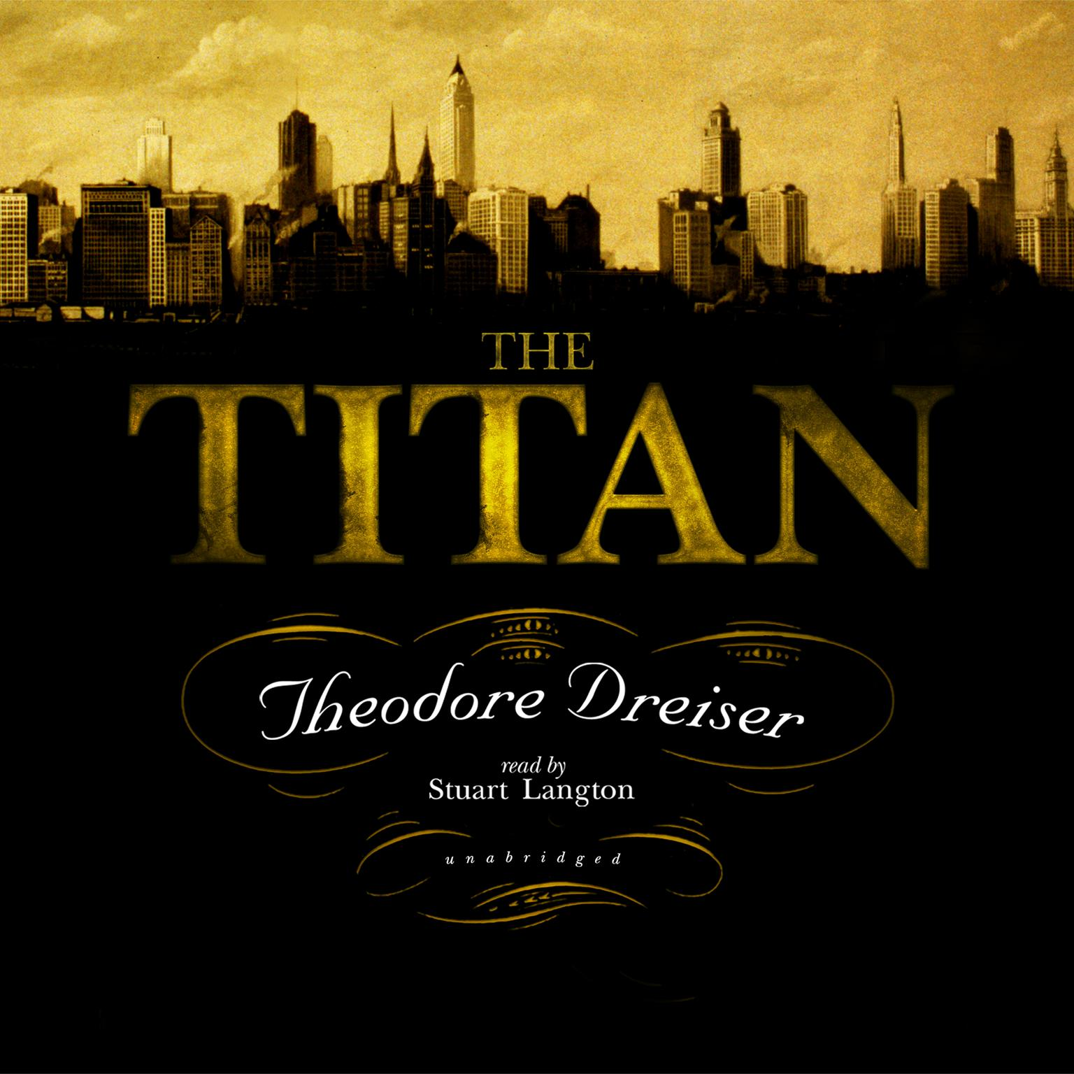 Printable The Titan Audiobook Cover Art