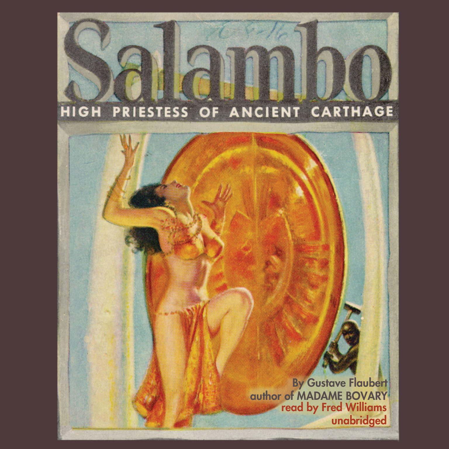 Printable Salambo: High Priestess of Ancient Carthage Audiobook Cover Art