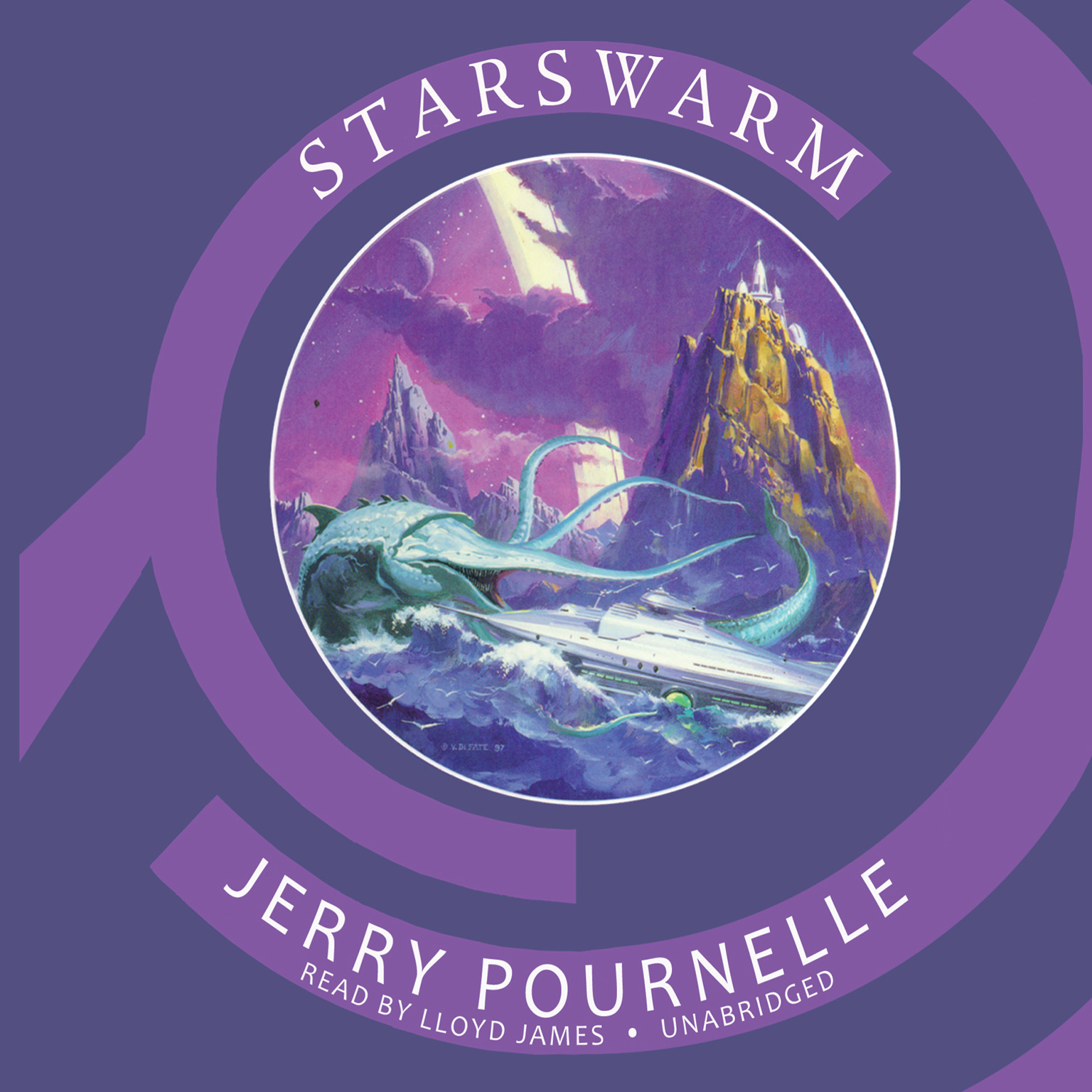 Printable Starswarm Audiobook Cover Art